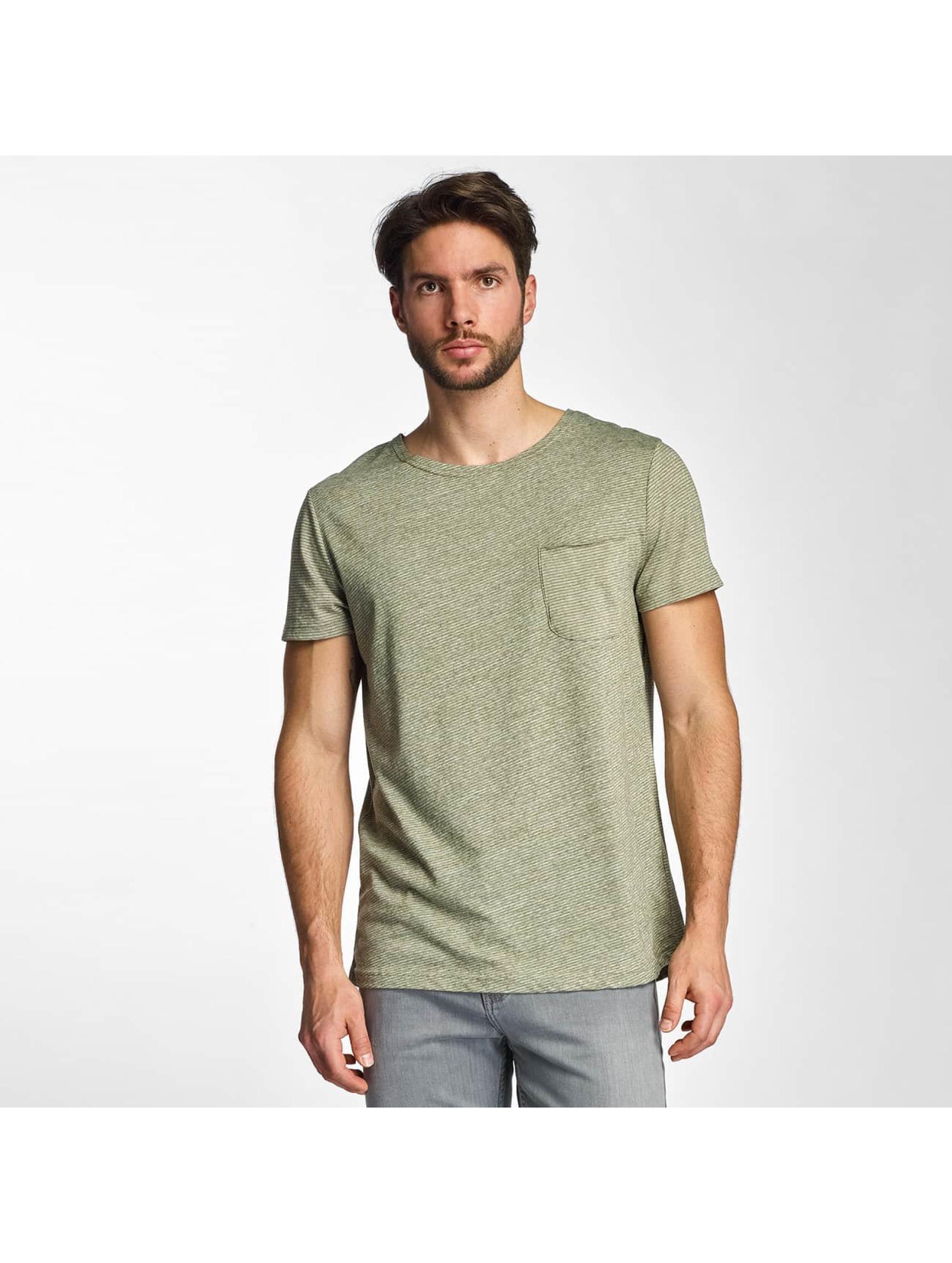 Sky Rebel Männer T-Shirt Nevio in olive