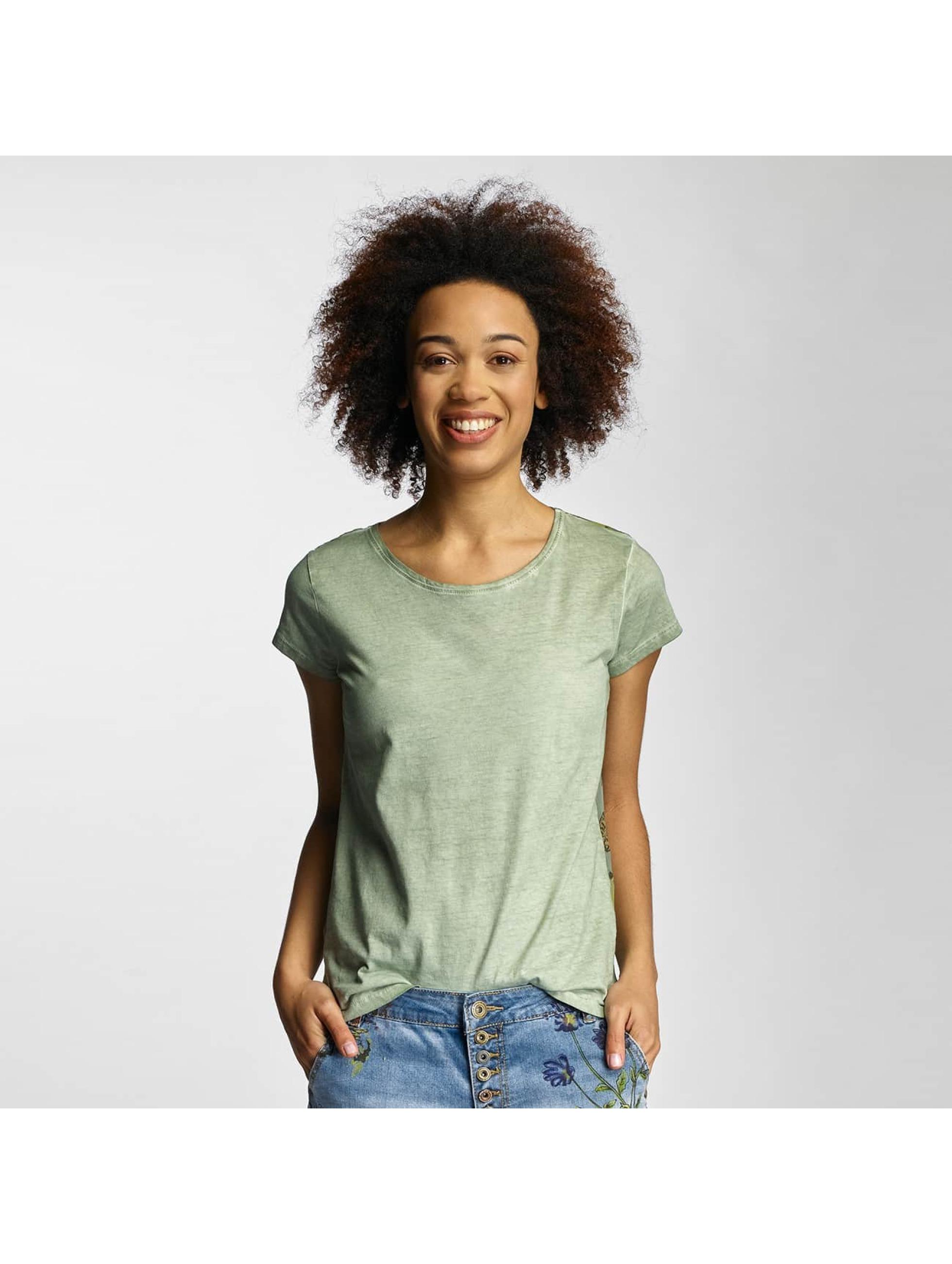 Urban Surface Frauen T-Shirt Dreamcatcher in grün