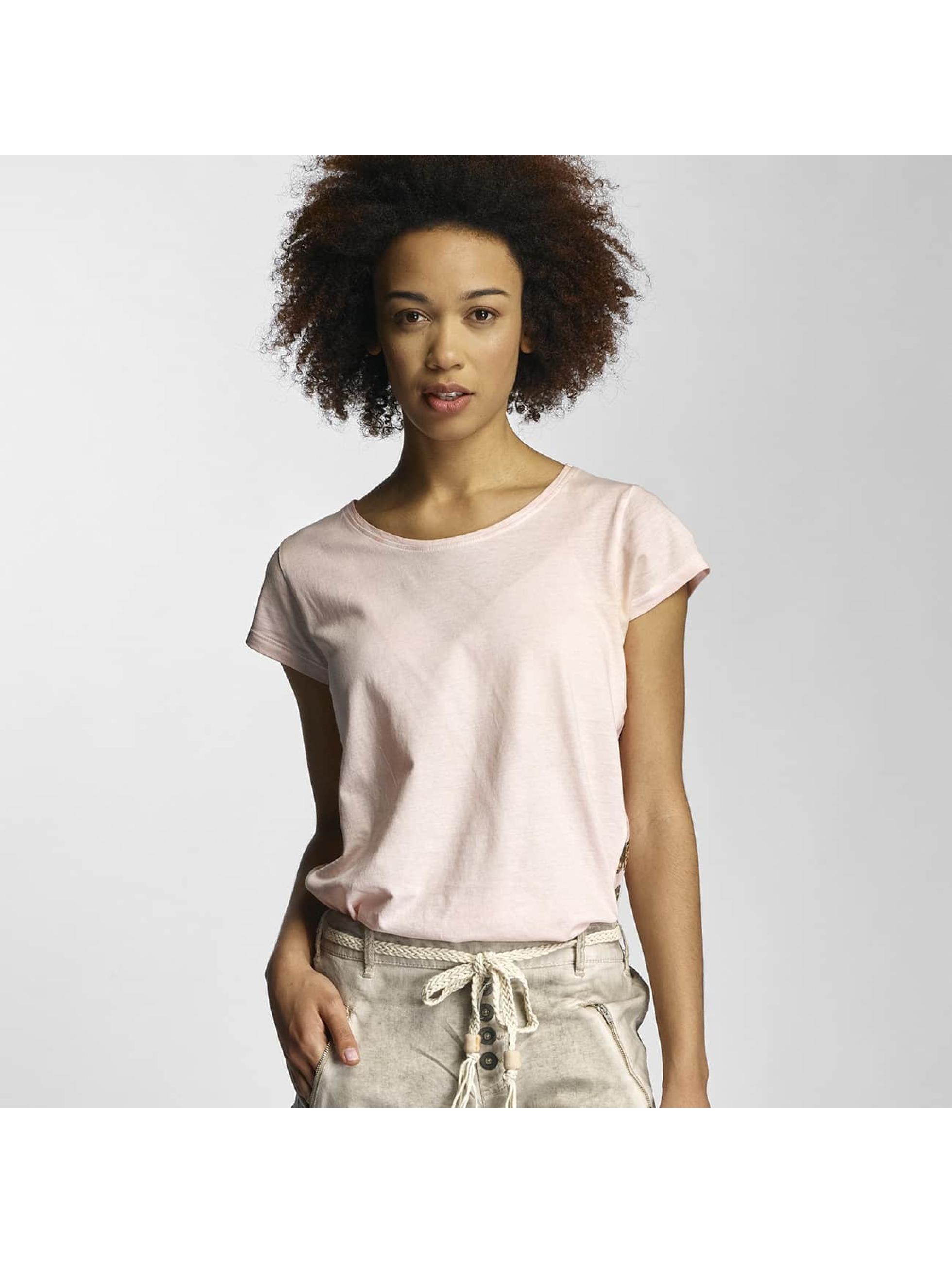 Urban Surface Frauen T-Shirt Dreamcatcher in rosa