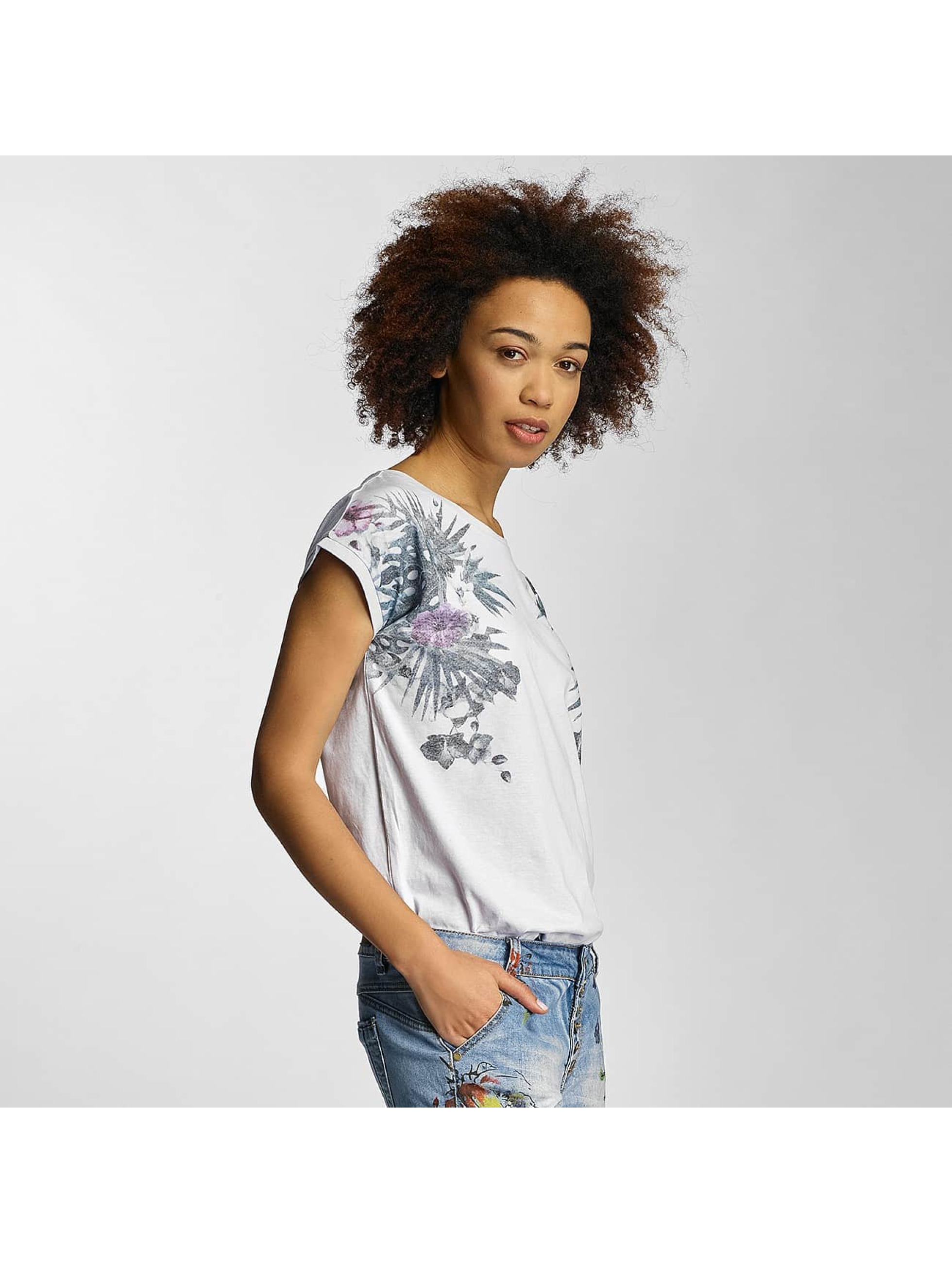 Sublevel Frauen T-Shirt Prim in weiß