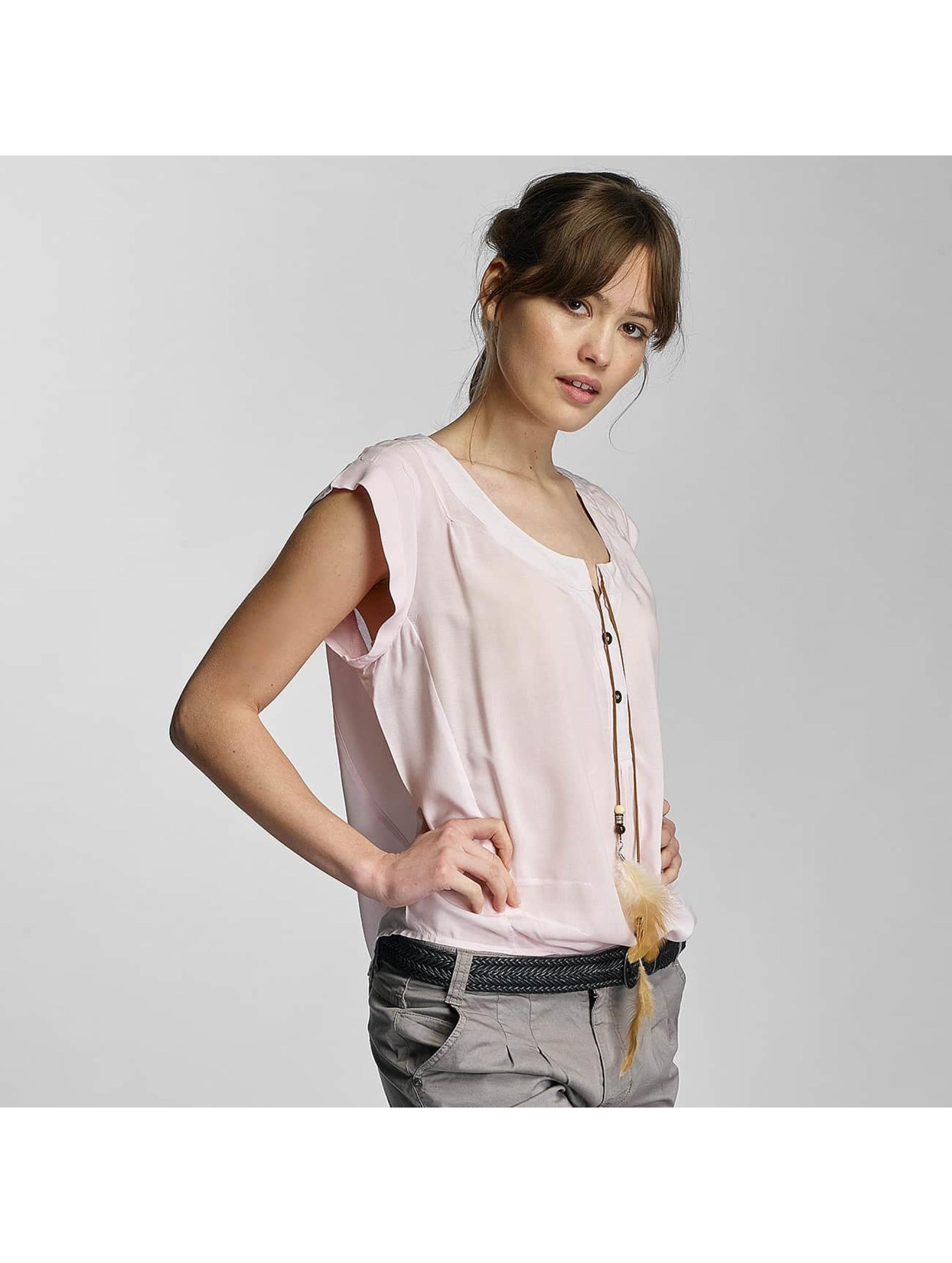 Stitch & Soul Frauen Bluse Lia in rosa