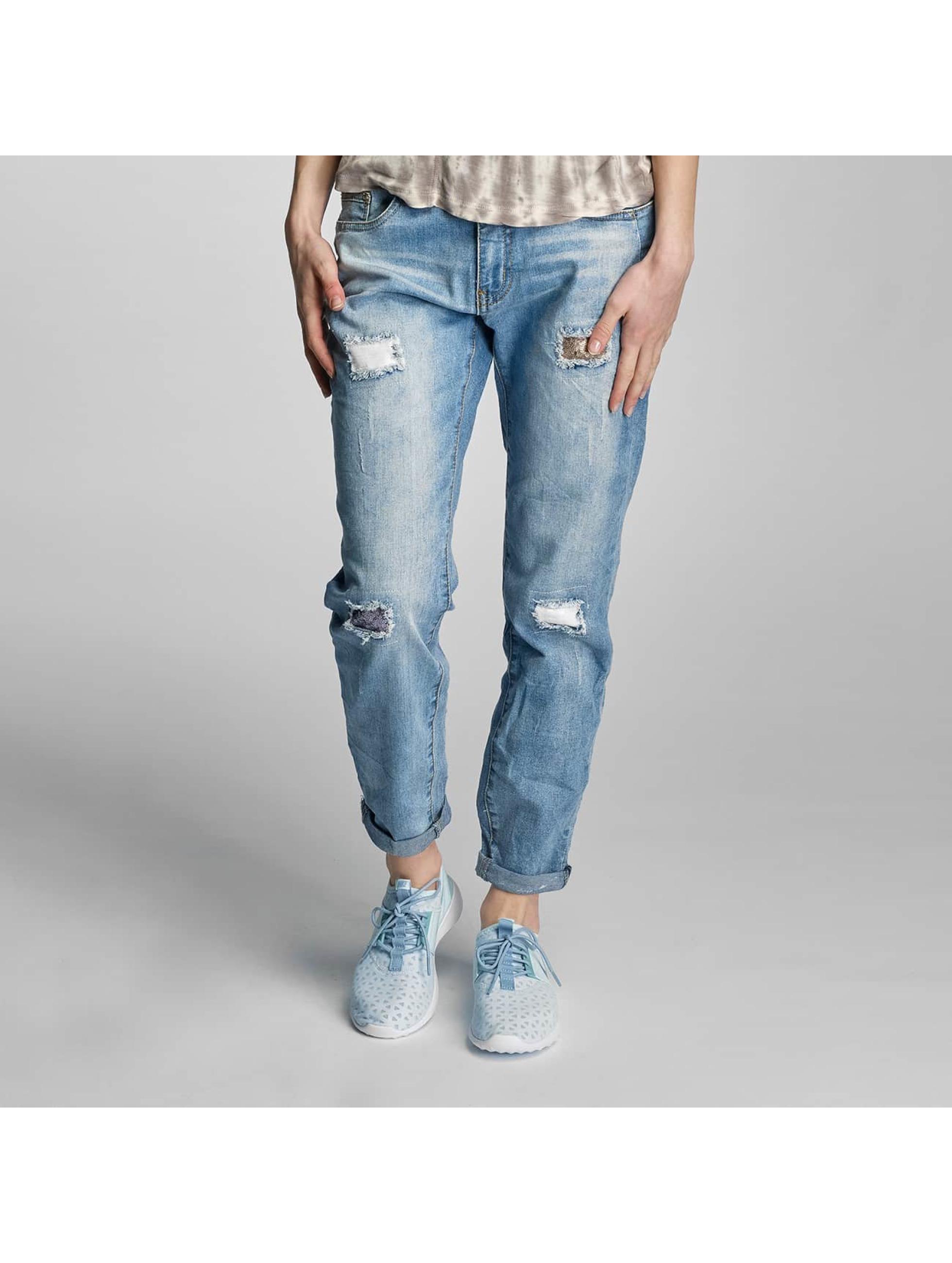 Rock Angel Frauen Loose Fit Jeans Charlotta in blau