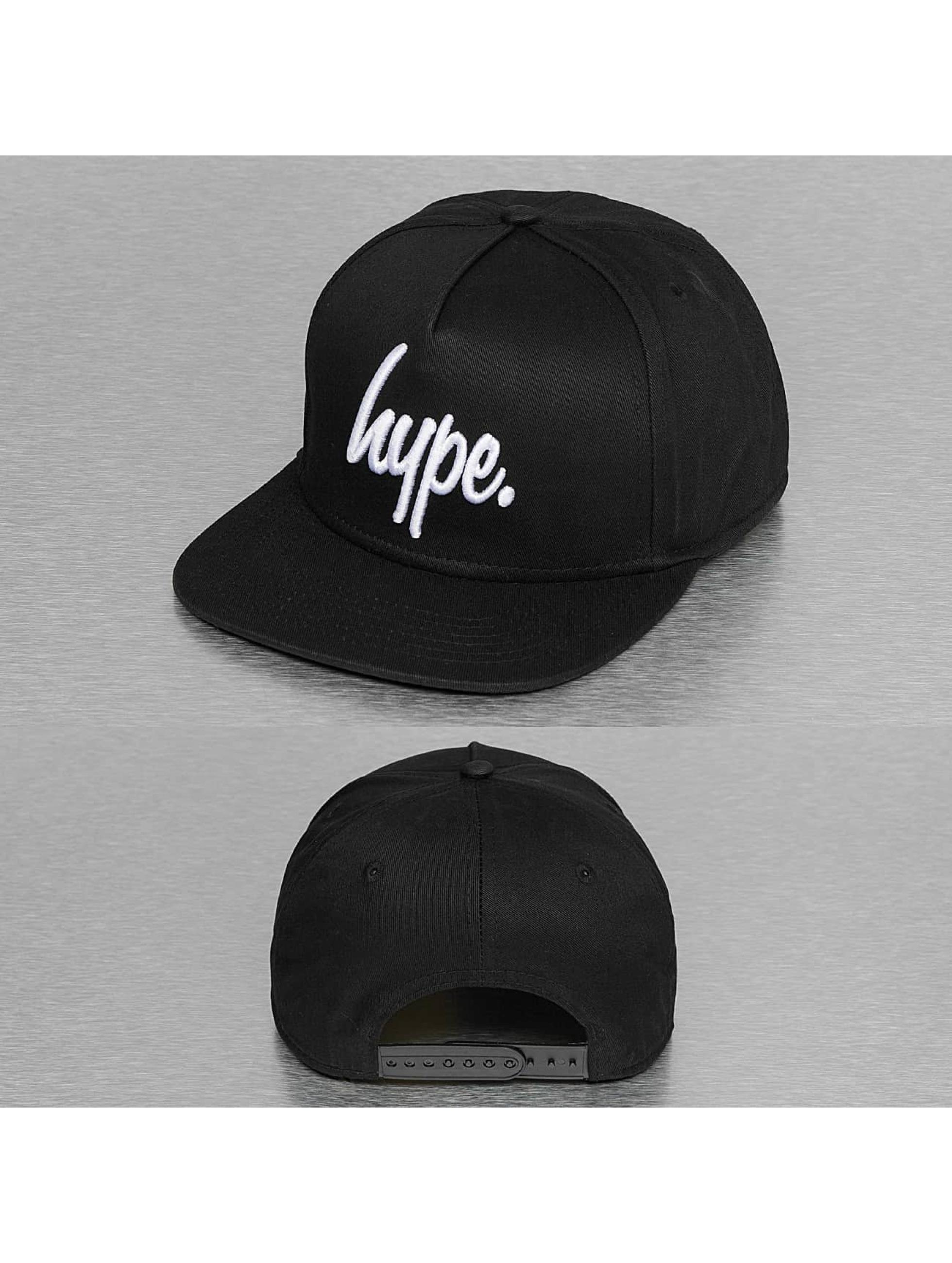 HYPE Männer,Frauen Snapback Cap Script in schwarz