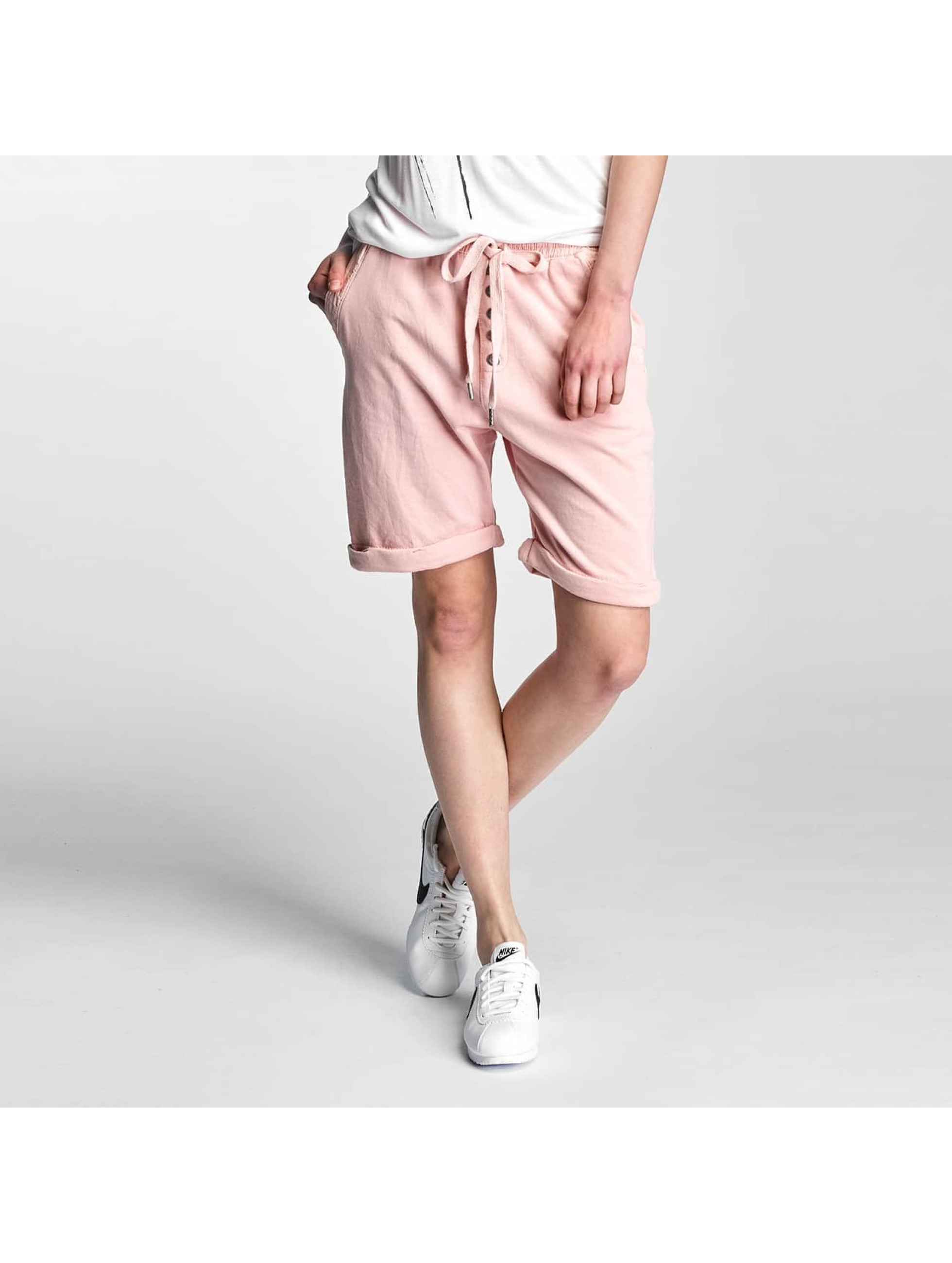 Stitch & Soul Frauen Shorts Sweat in rosa