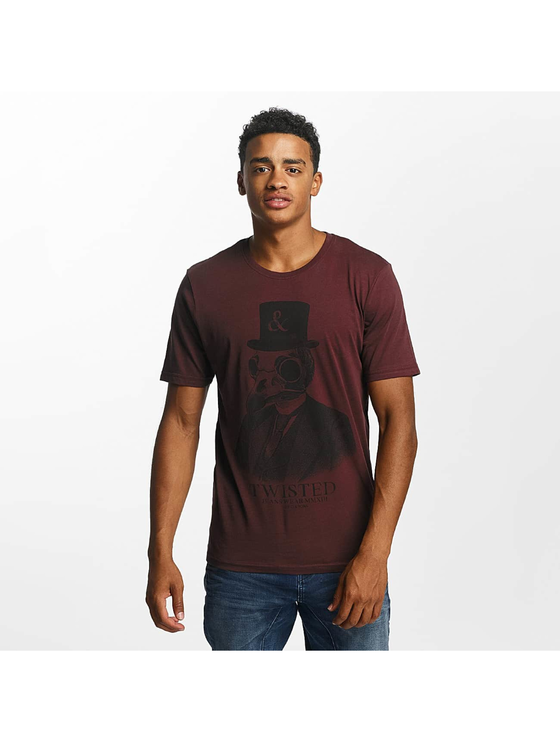 Only & Sons Männer T-Shirt onsAbraham in rot