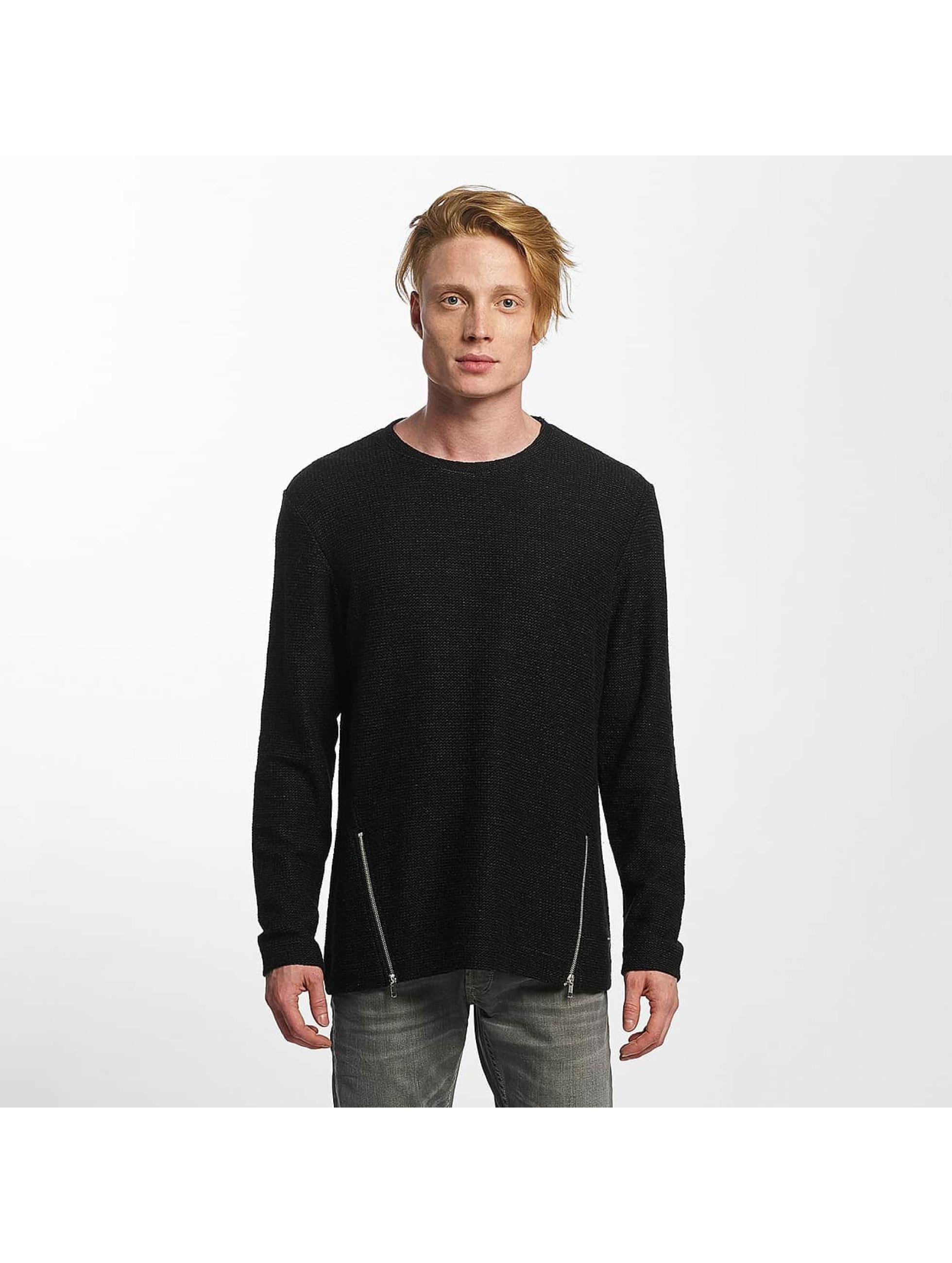 Only Männer Pullover onsChadli in schwarz