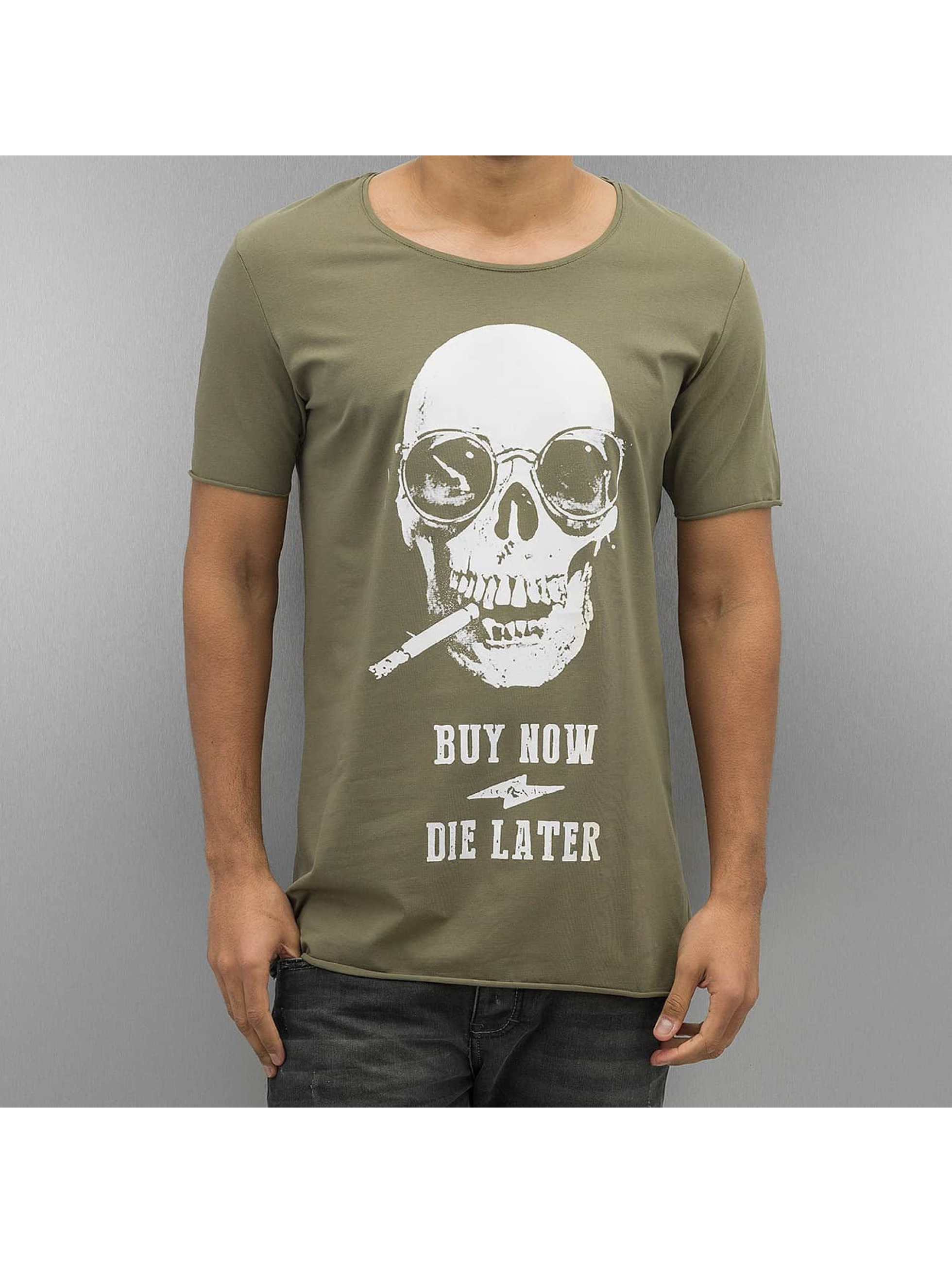 2Y Männer T-Shirt Buy Now in khaki