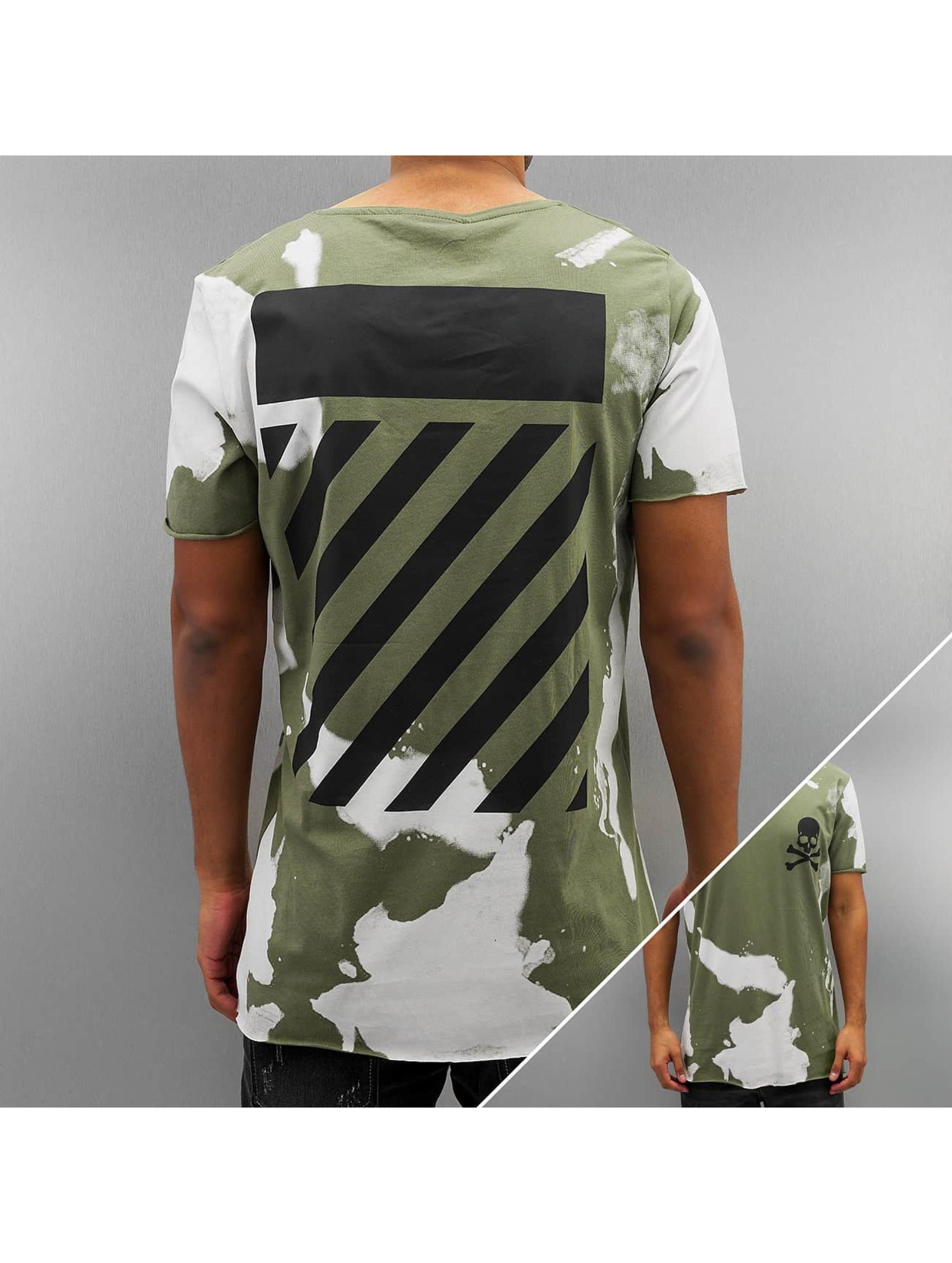 2Y Erie T Shirt Khaki