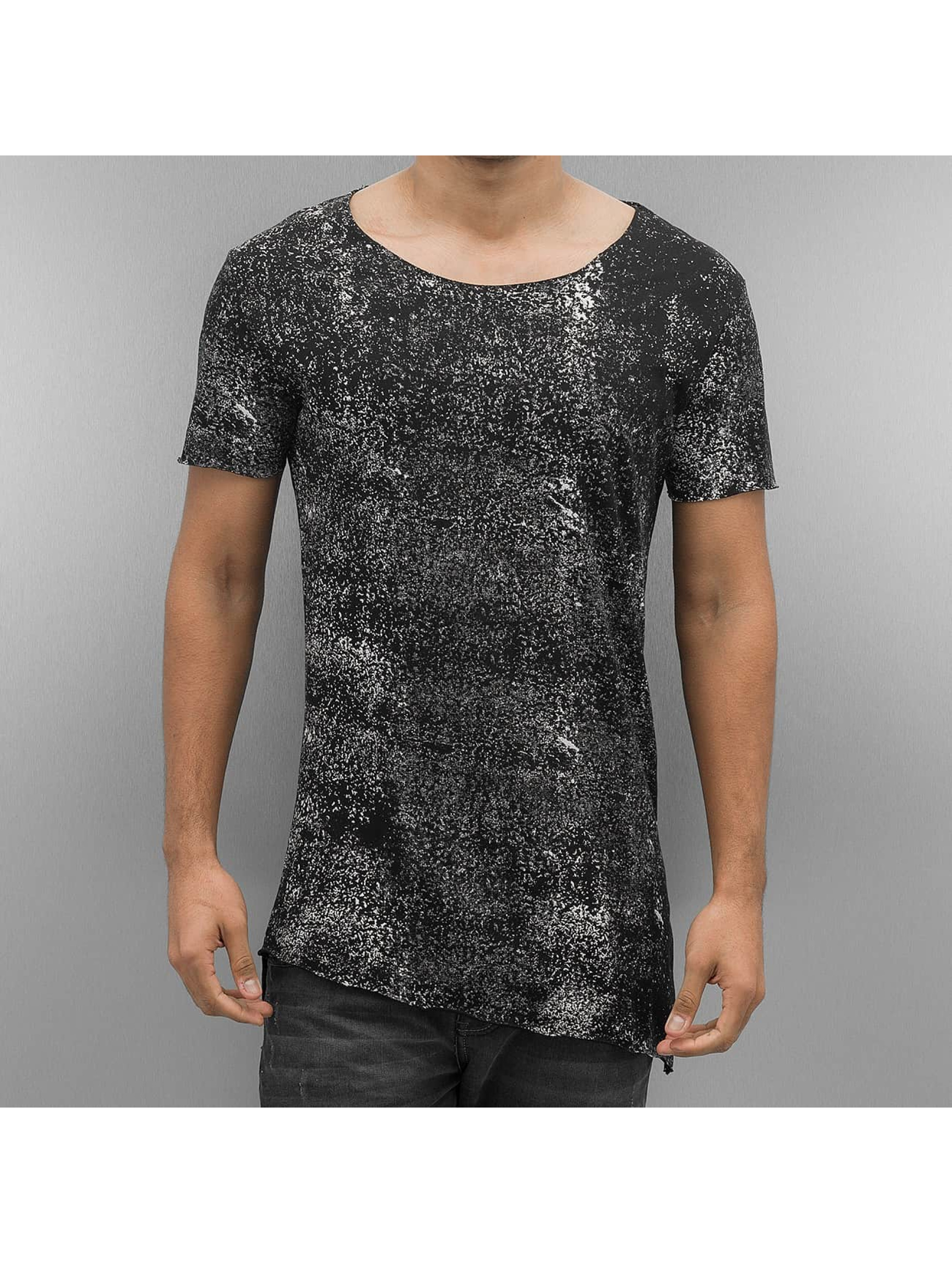 2Y Männer T-Shirt Color Blobs in schwarz