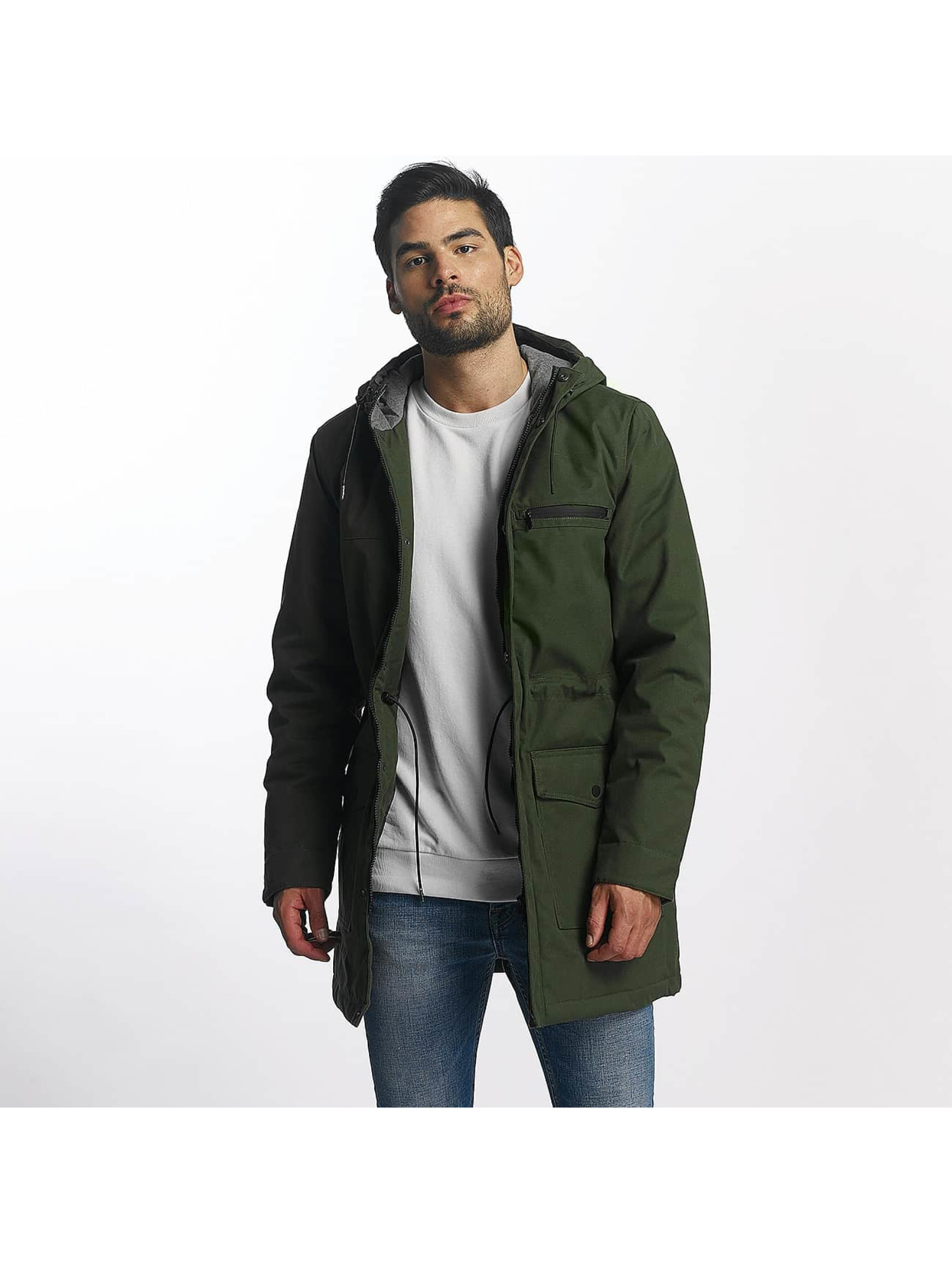 Only & Sons Männer Winterjacke onsJohann in grün