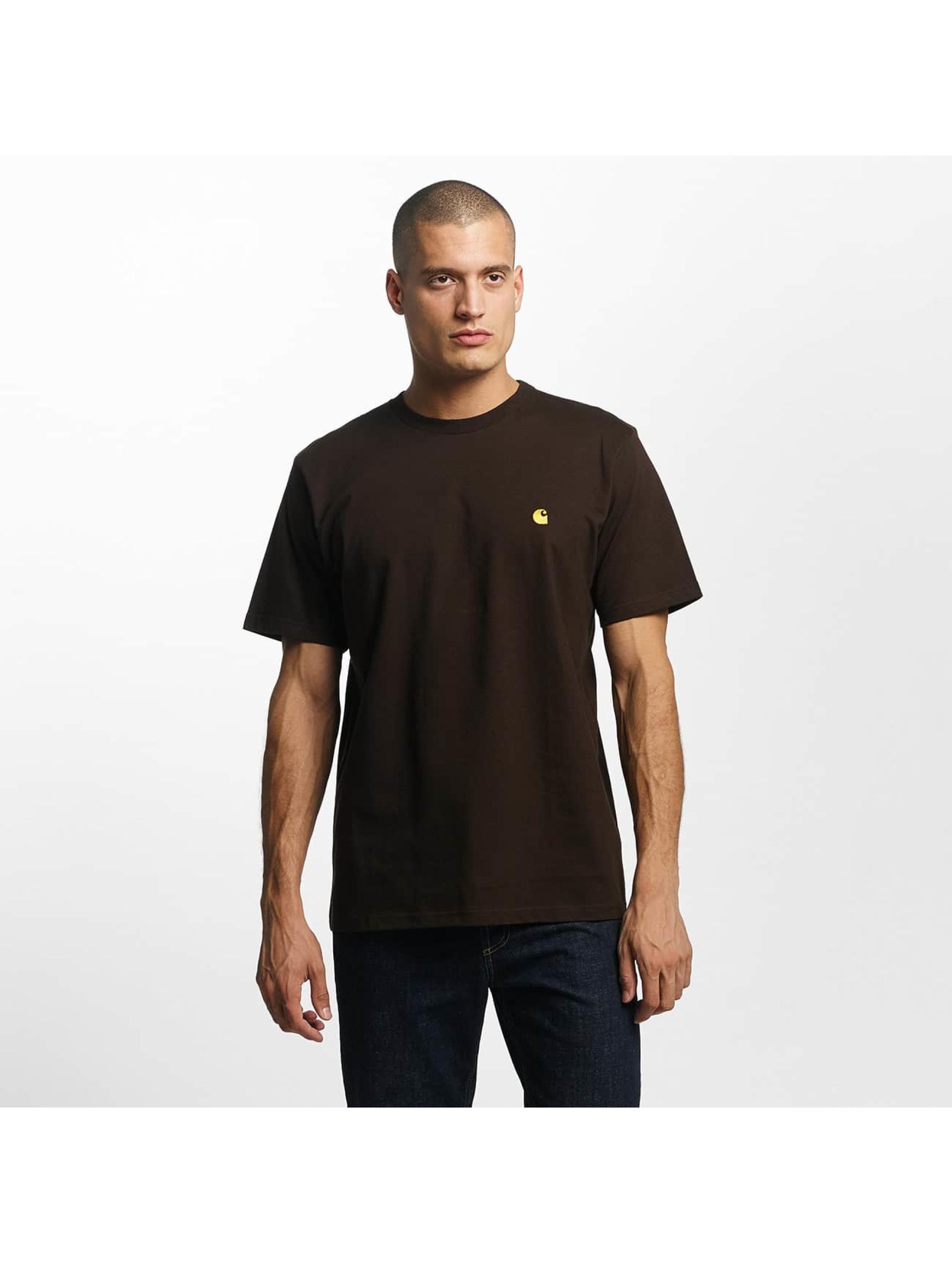 Carhartt WIP Männer T-Shirt Chase in braun
