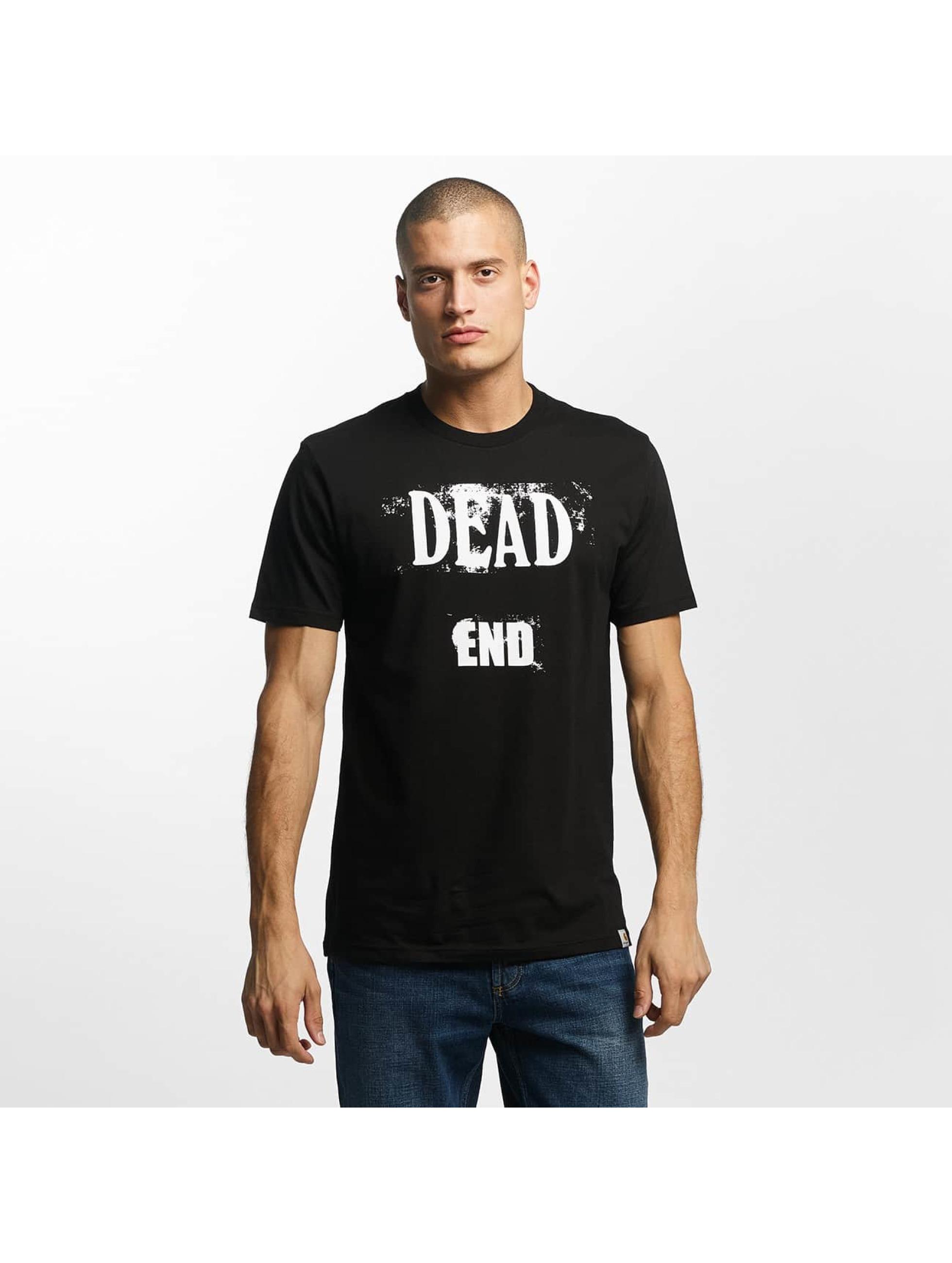 Carhartt WIP Männer T-Shirt Dead End in schwarz