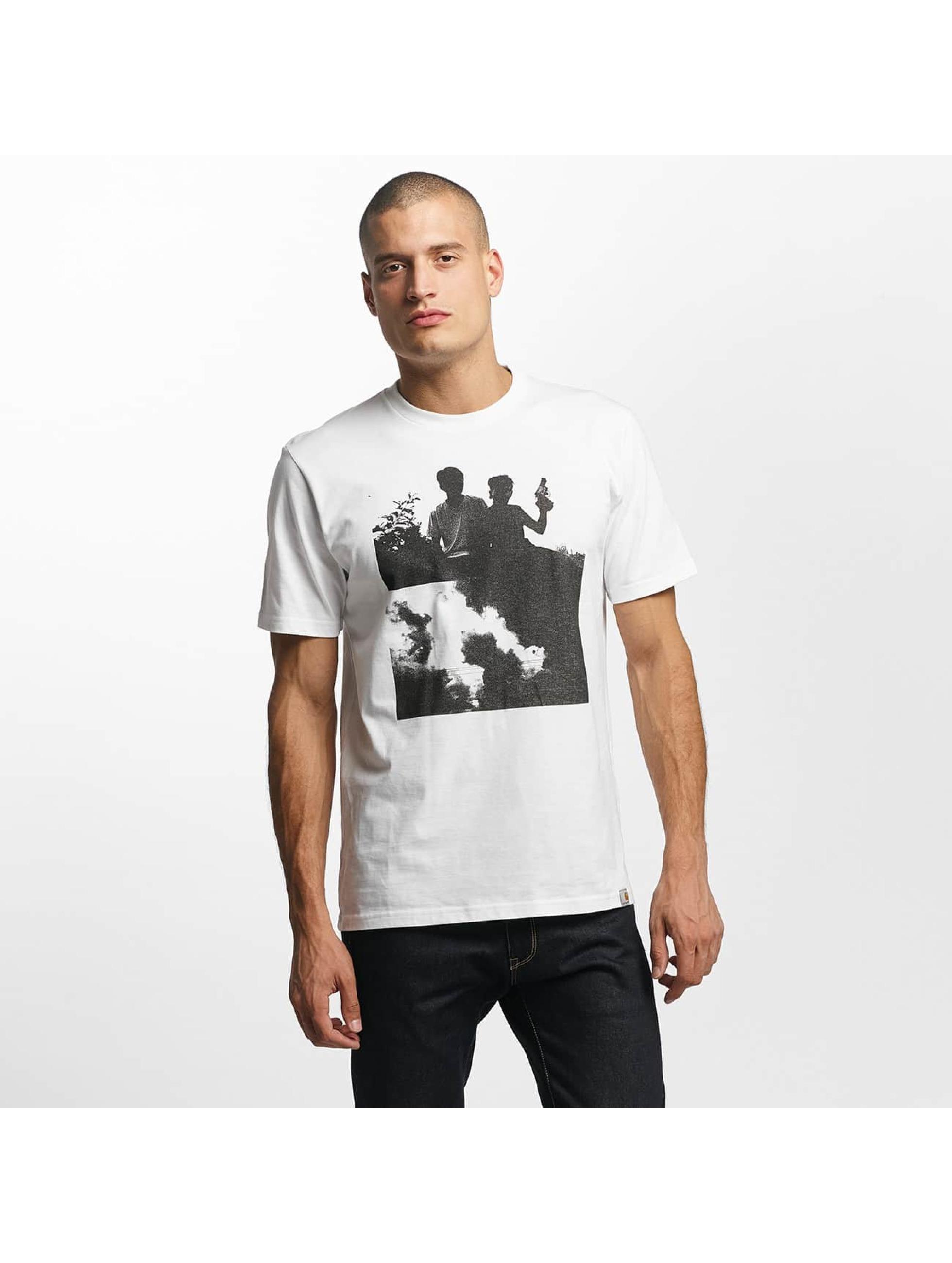Carhartt WIP Männer T-Shirt Pistols in weiß