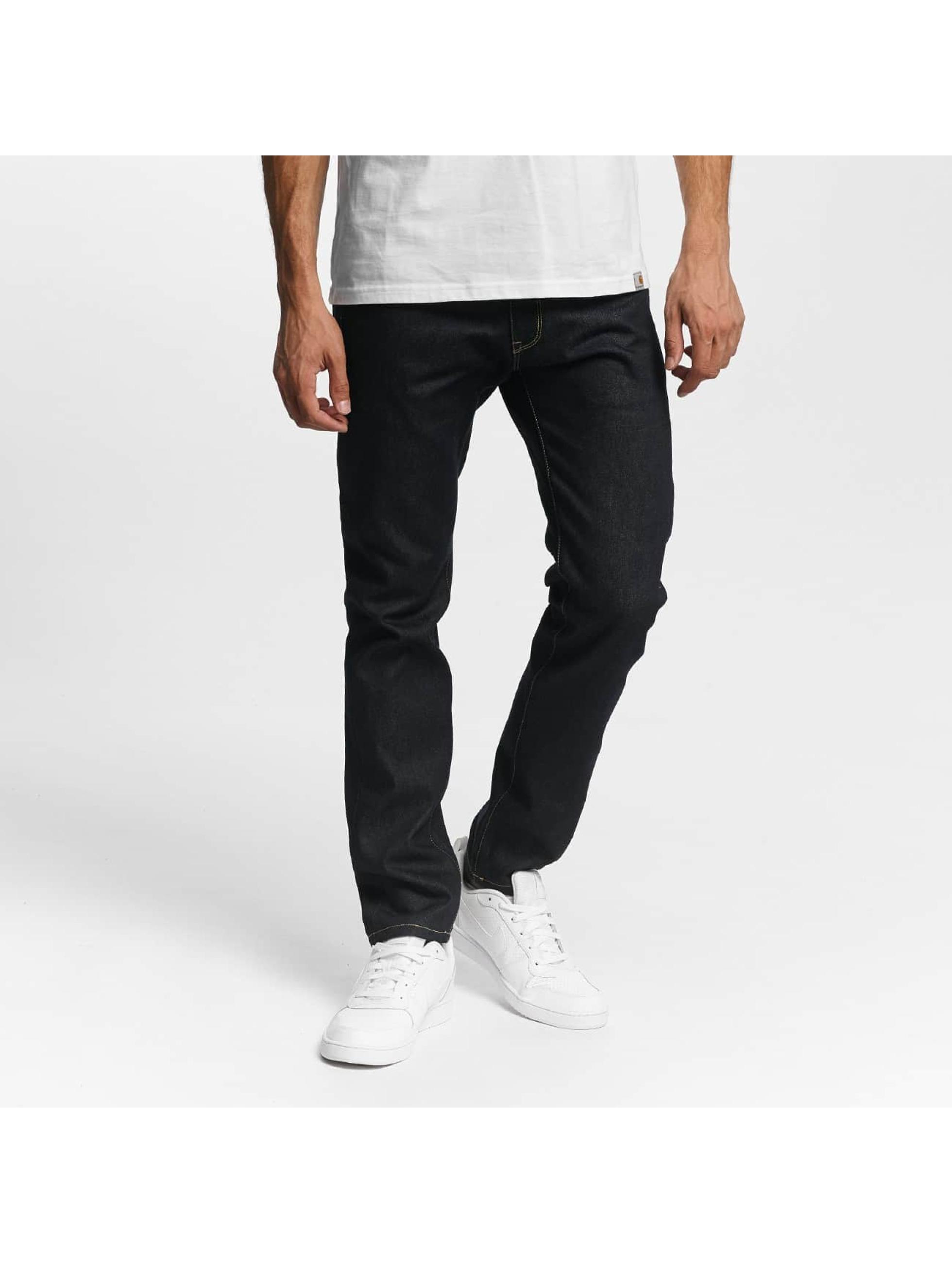 Carhartt WIP Männer Straight Fit Jeans Madera in blau