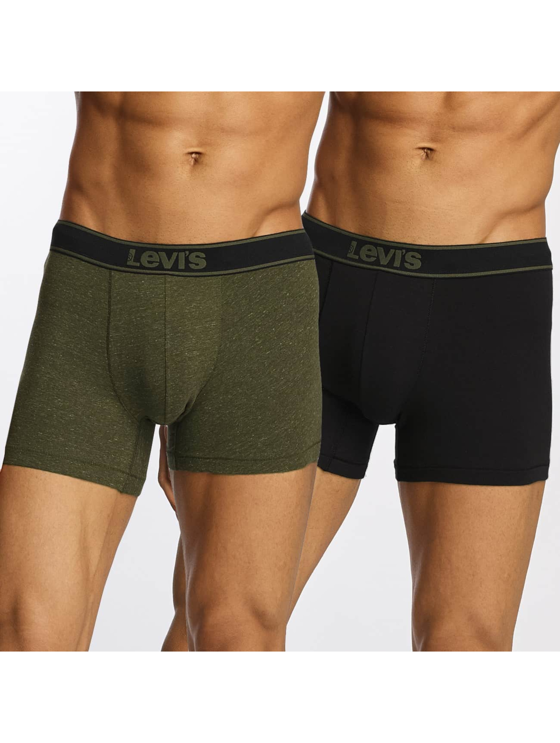 Levi´s® Männer Boxershorts Boxershorts Brief Vintage Heather 2-Pack in olive