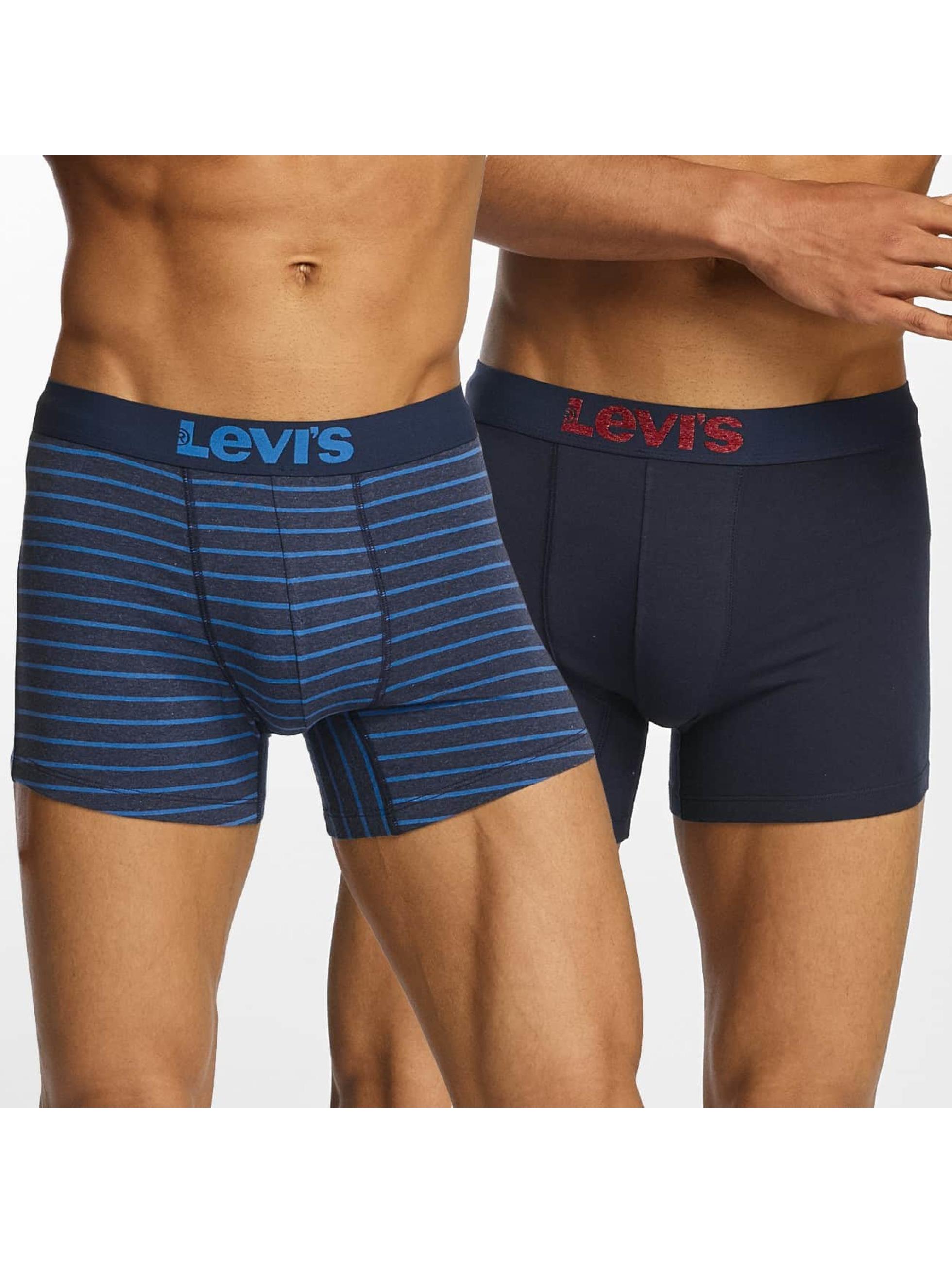 Levi´s® Männer Boxershorts Vintage Stripe 0312 2-Pack in blau