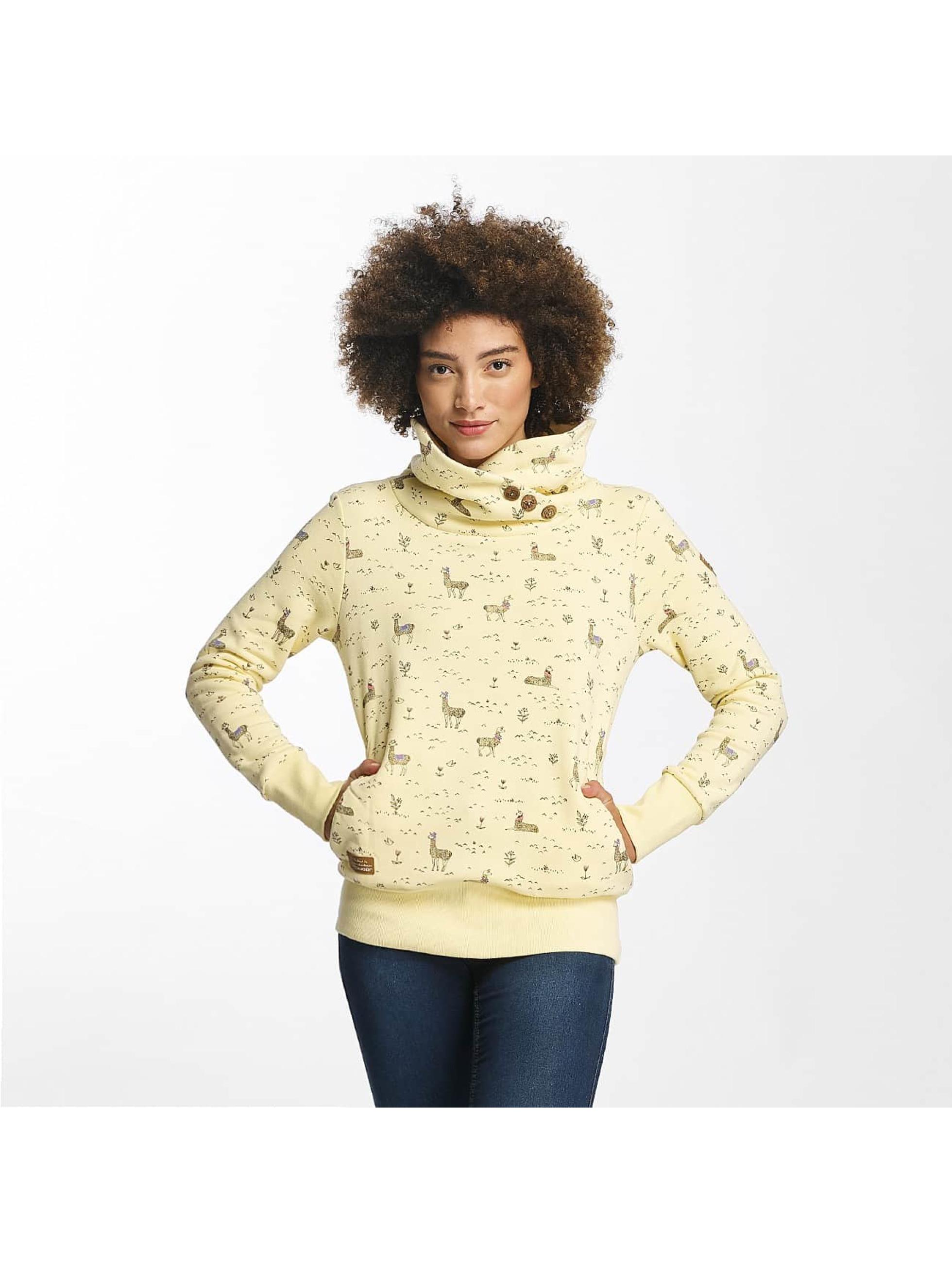Ragwear Frauen Pullover Angel in gelb