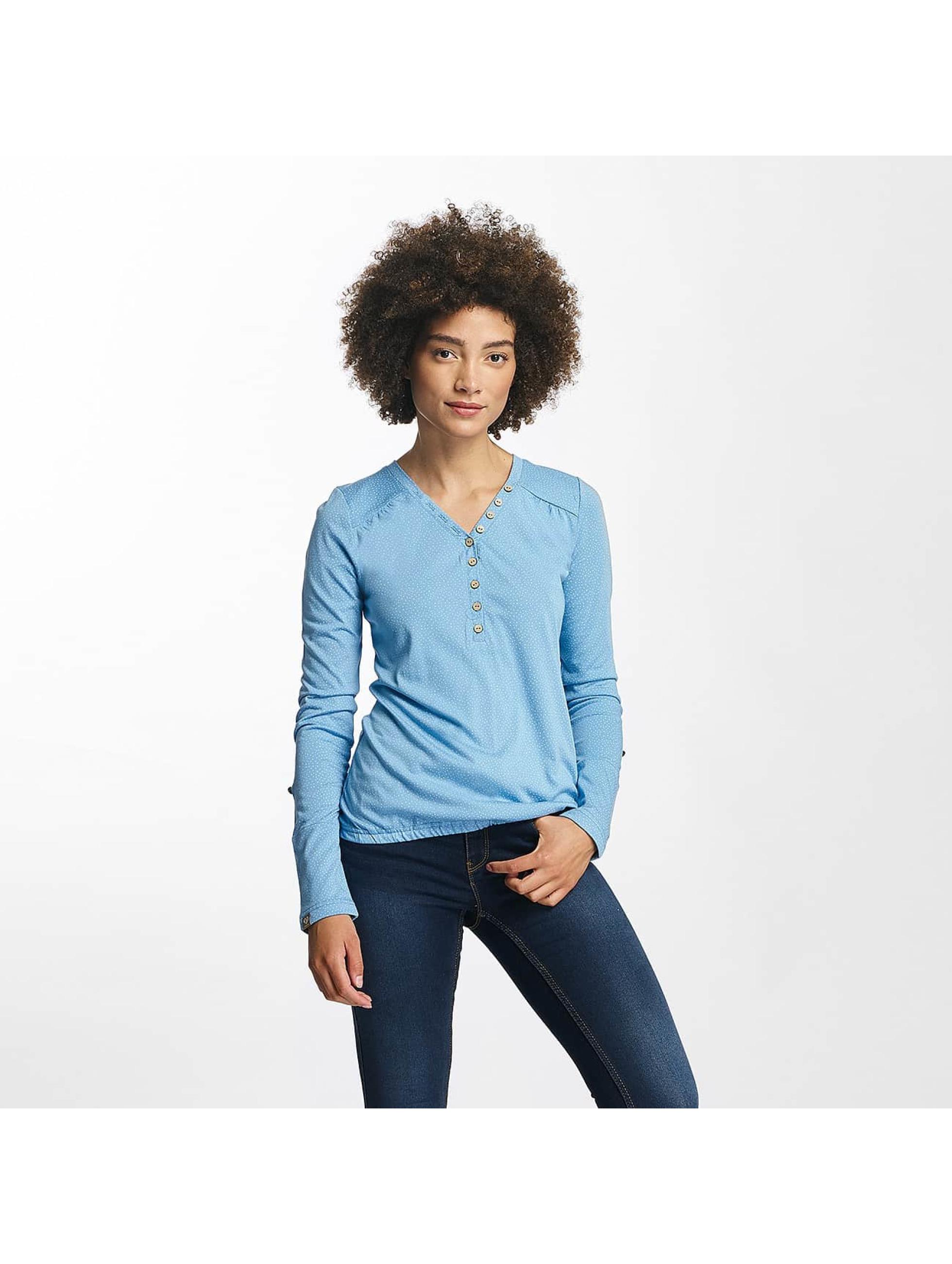 Ragwear Frauen Longsleeve Pinch in blau
