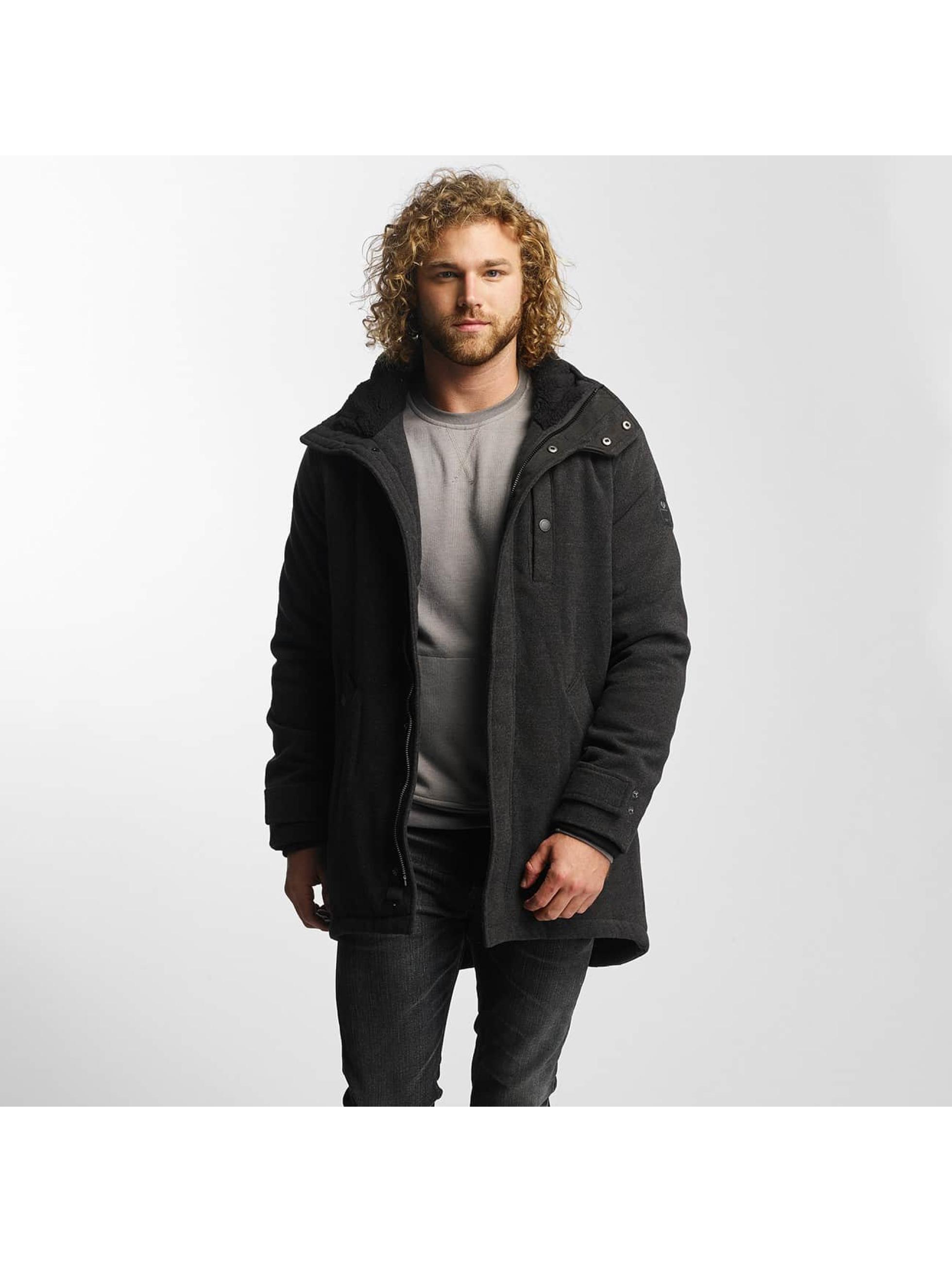 Ragwear Männer Winterjacke Gregory in schwarz