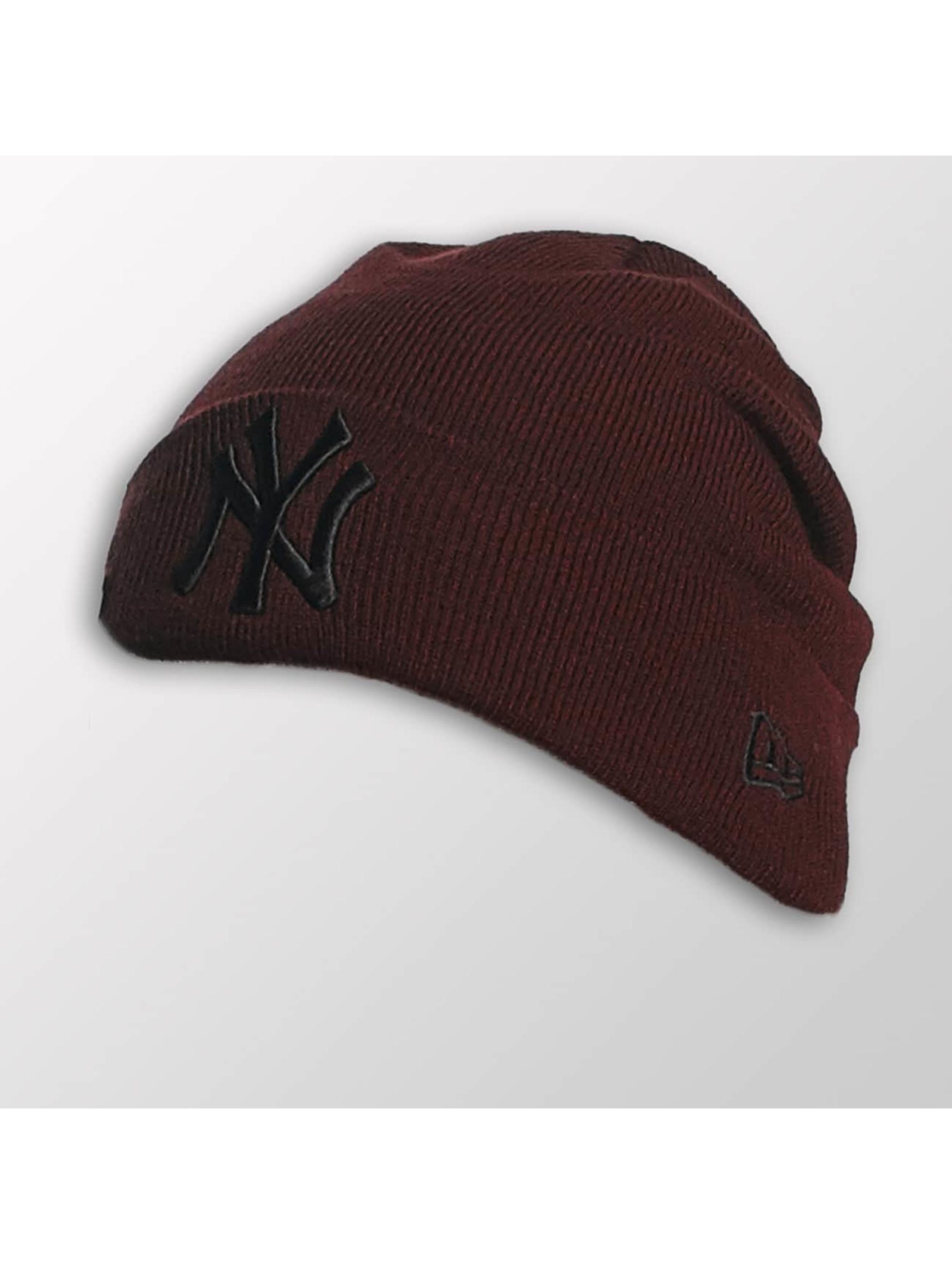 New Era Männer,Frauen Beanie Seasonal Cuff NY Yankees in rot
