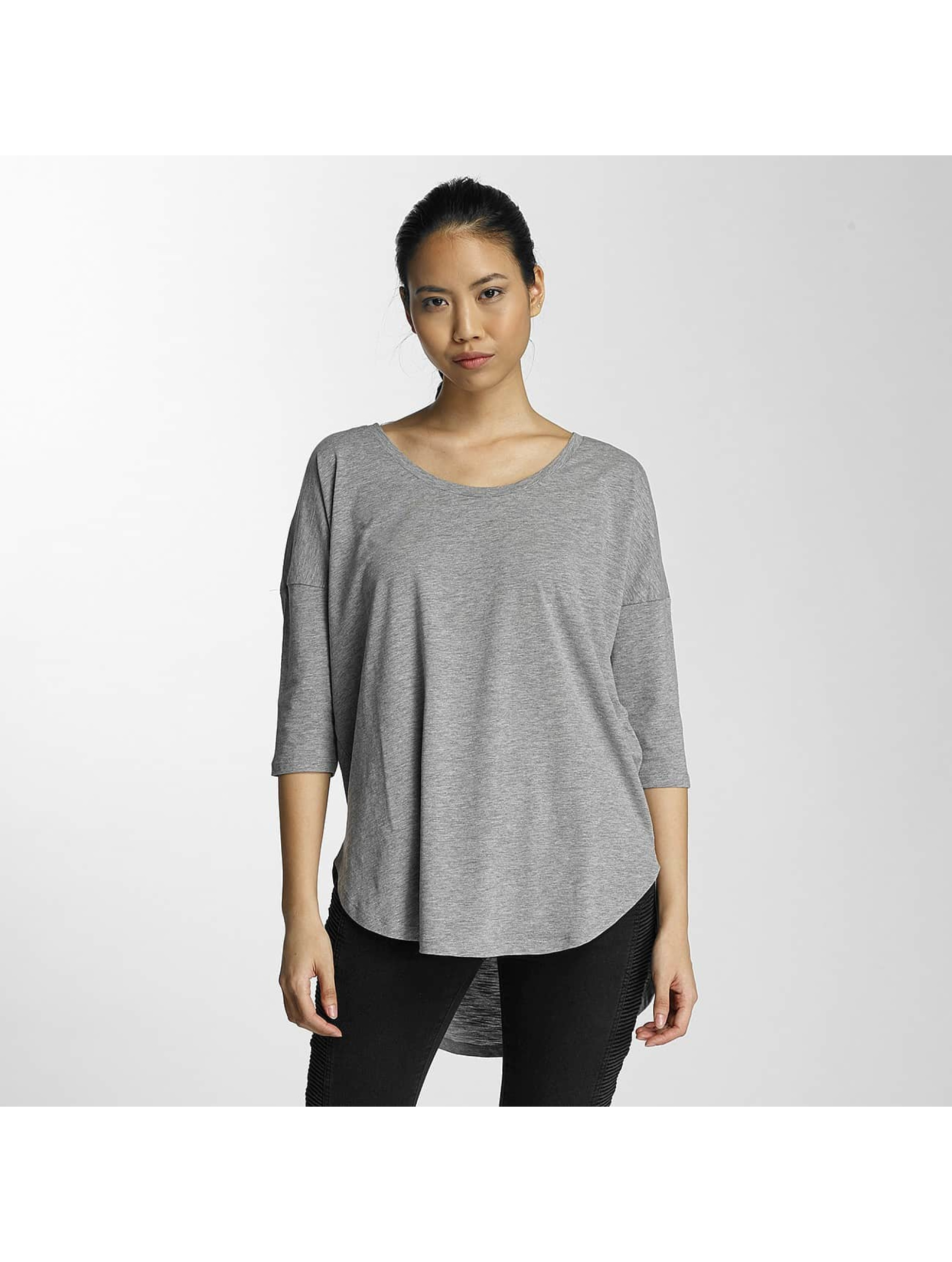 Noisy May Frauen Longsleeve nmAnna in grau
