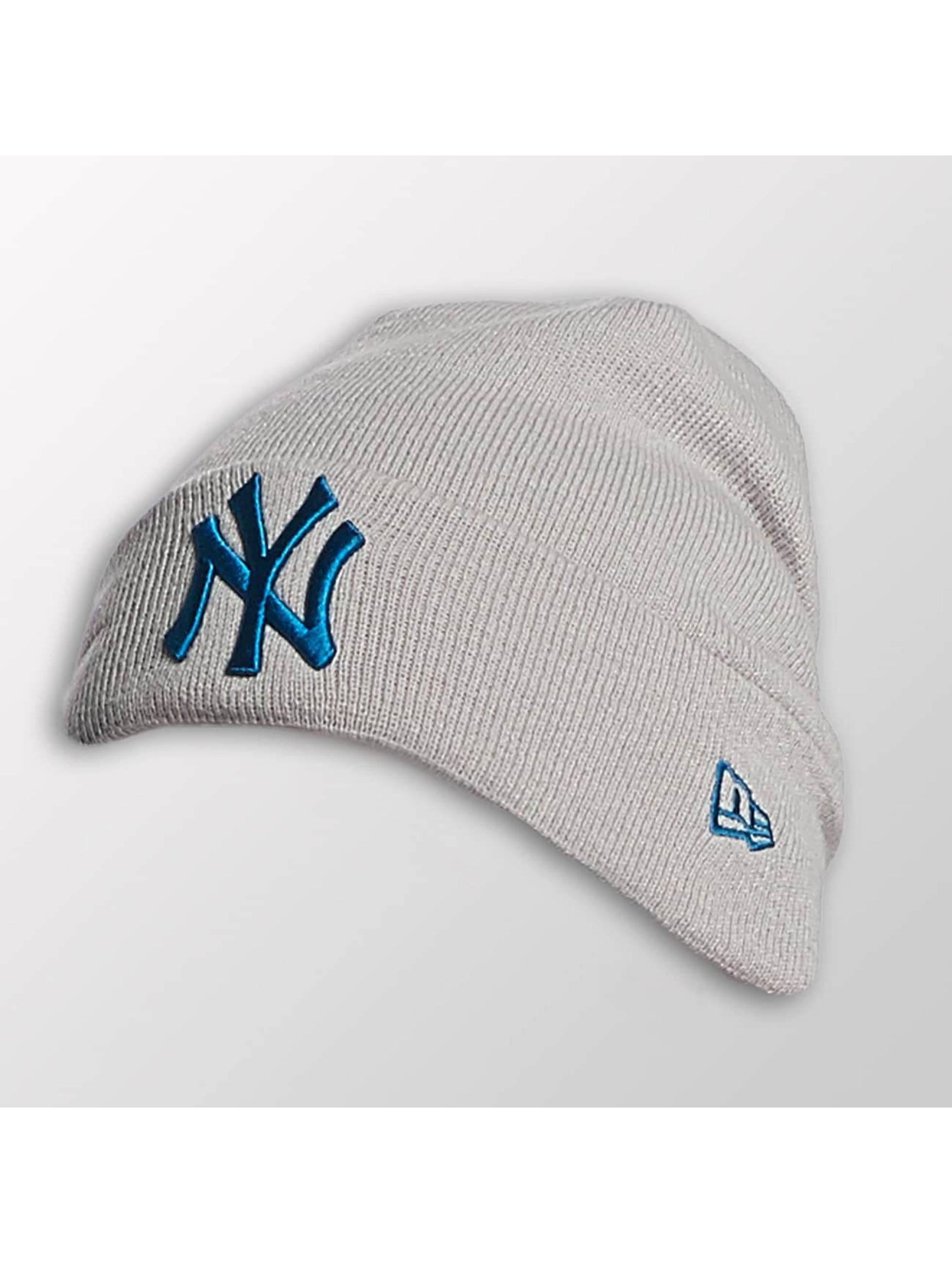 New Era Männer,Frauen Beanie Seasonal Cuff NY Yankees in grau