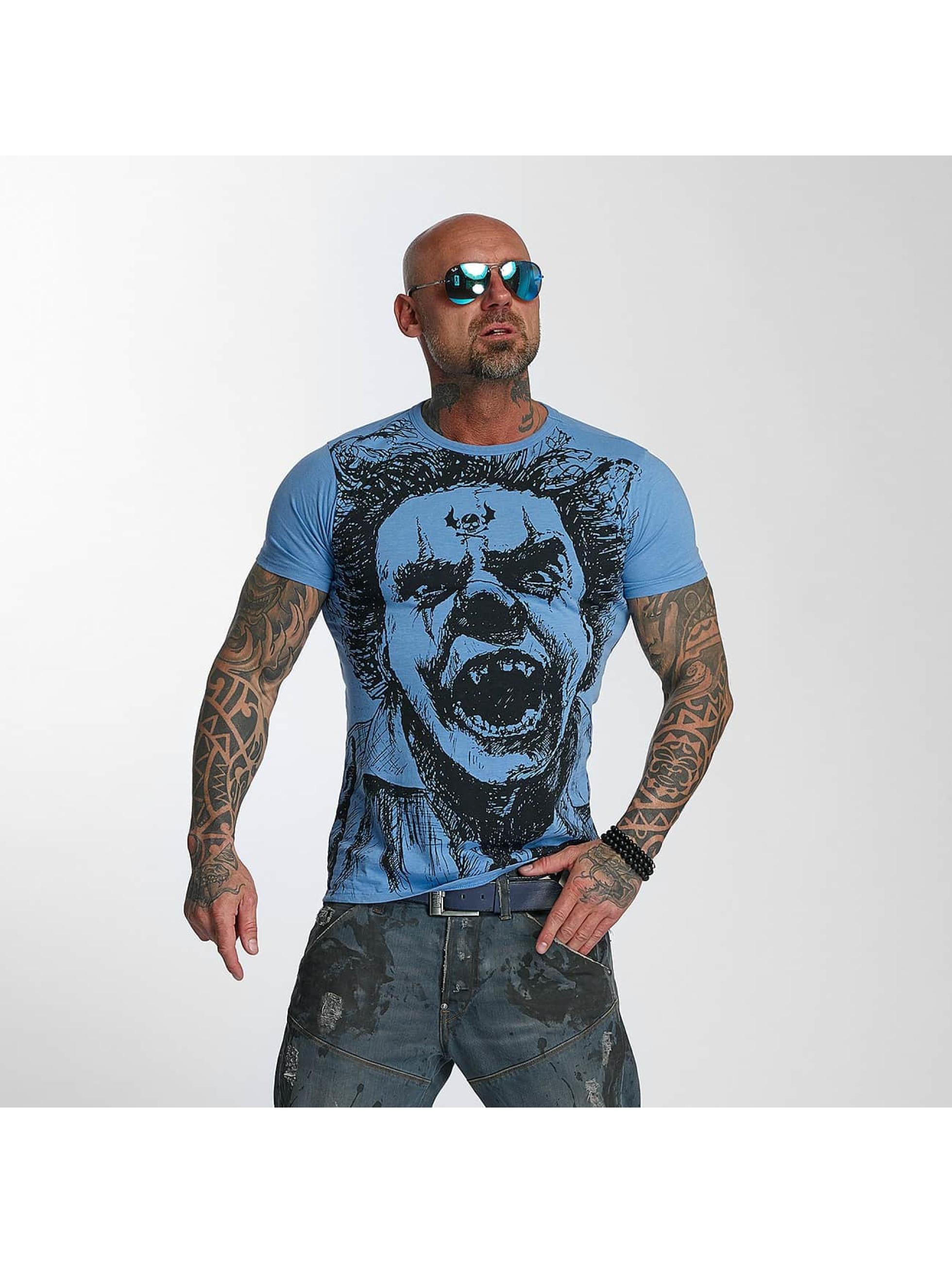 Schipkau Annahütte Angebote Yakuza Männer T-Shirt Allover King in blau