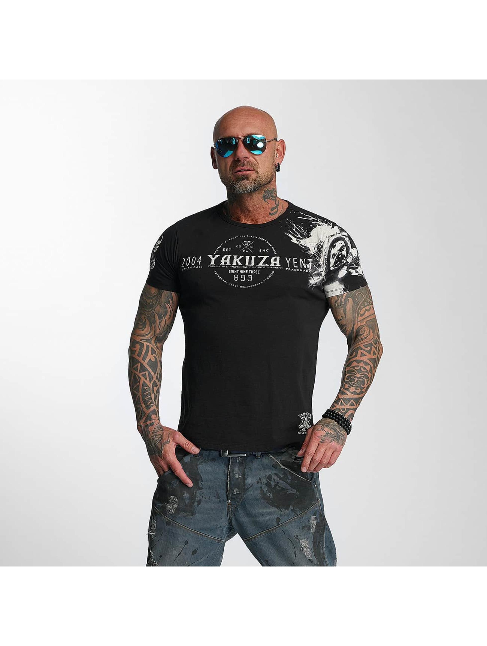 Yakuza Männer T-Shirt Yent in schwarz Sale Angebote Kröppen