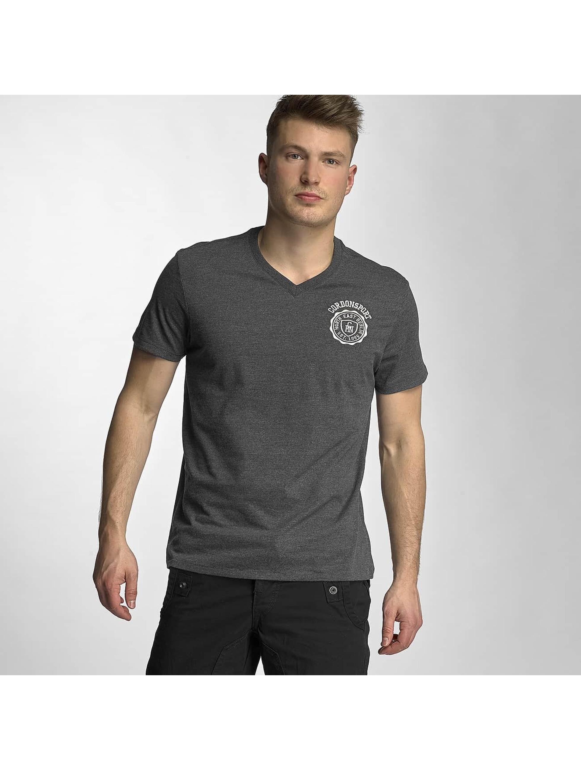 Cordon Männer T-Shirt Jens in grau
