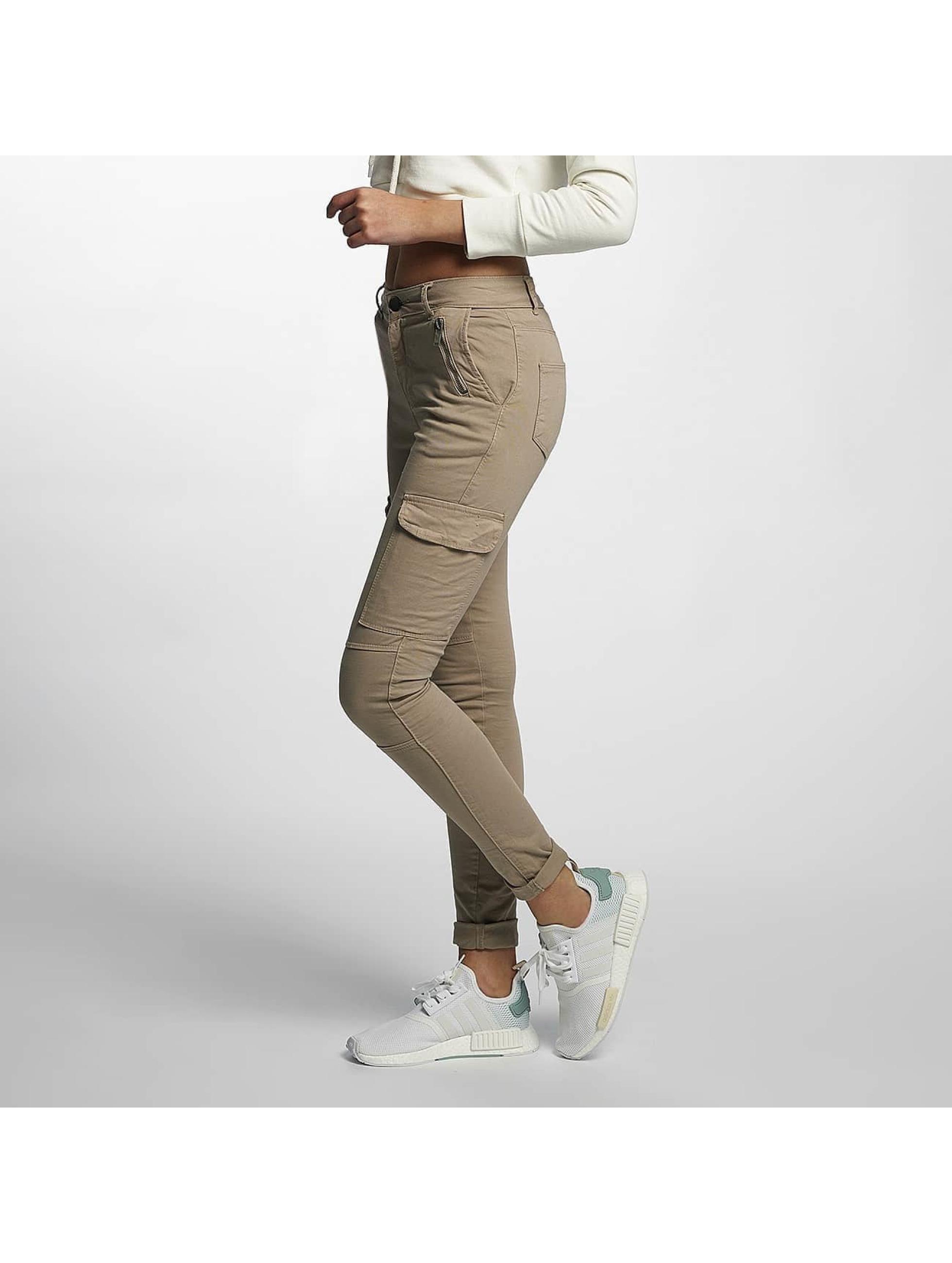 DEF Frauen Skinny Jeans Luisa in beige