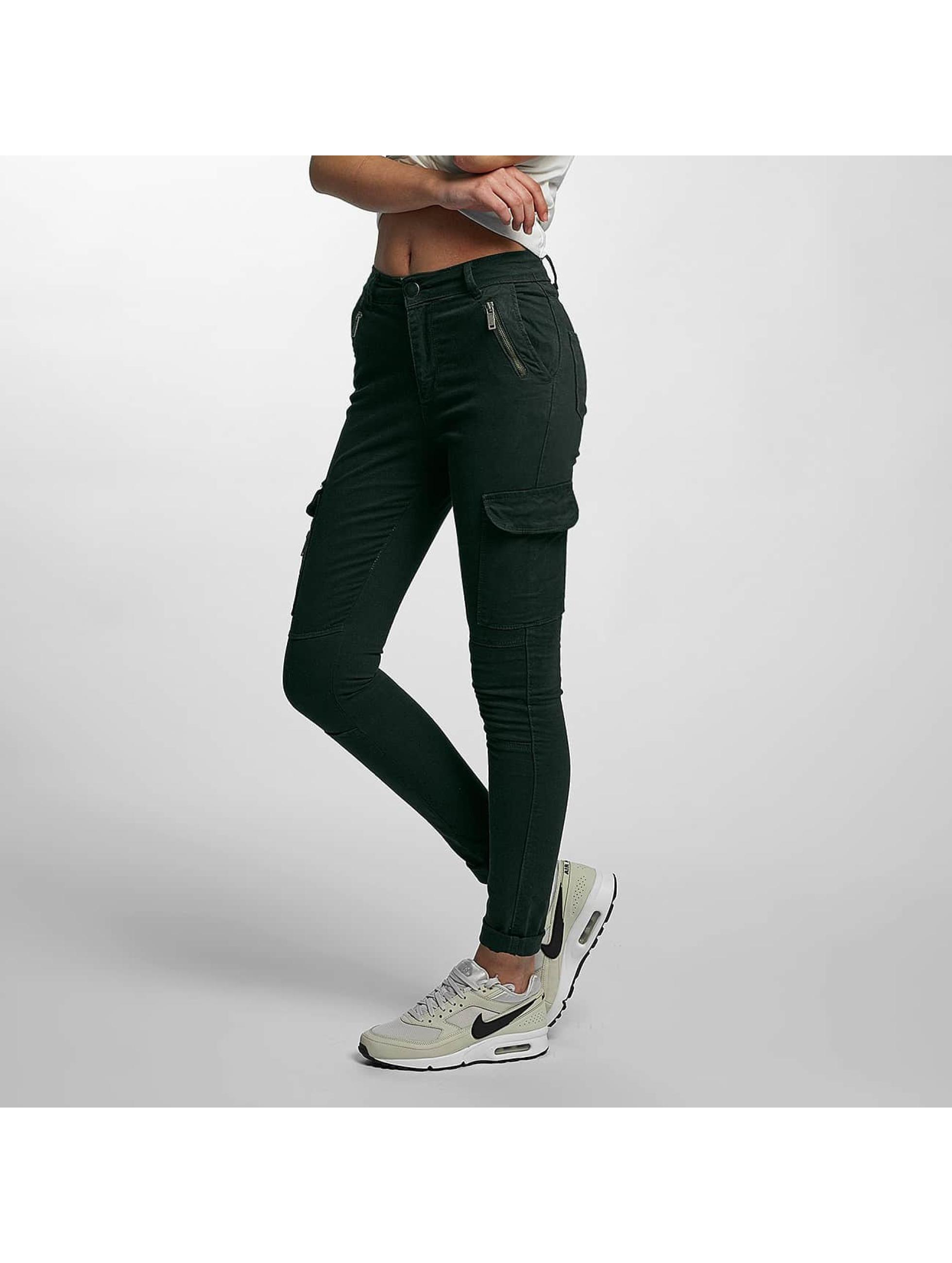 DEF Frauen Skinny Jeans Luisa in olive
