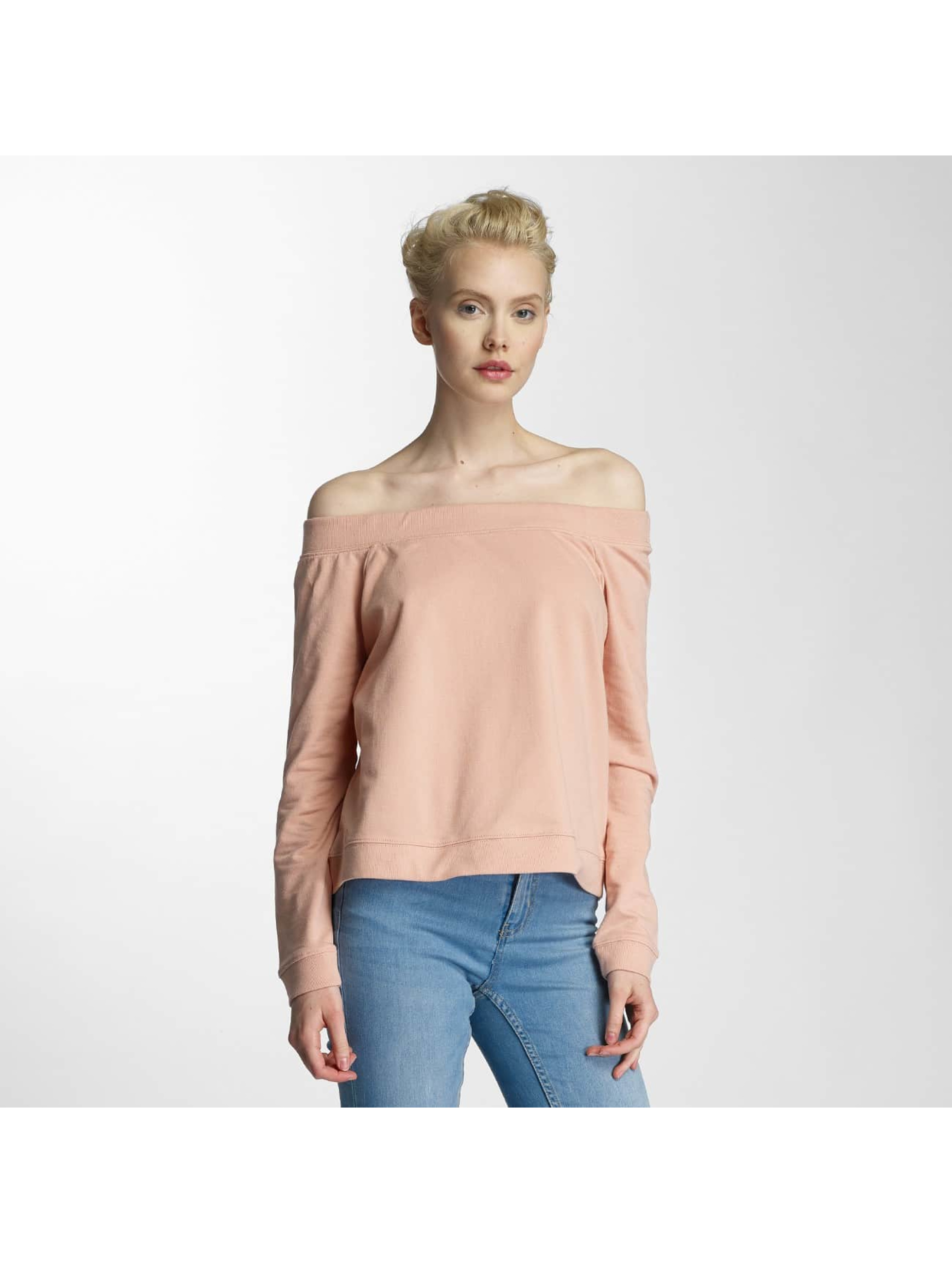 Noisy May Frauen Longsleeve nmFenty in rosa