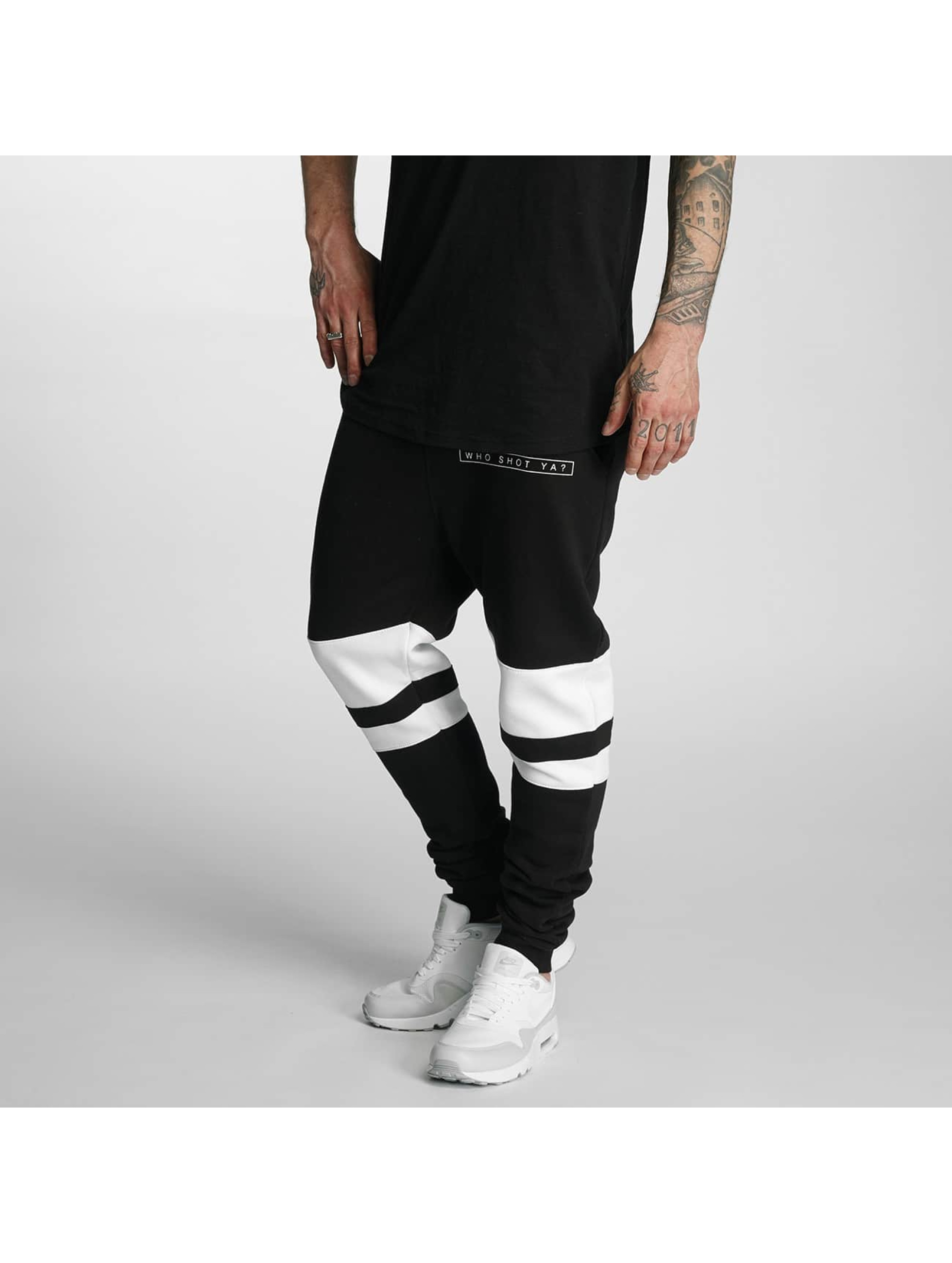 Who Shot Ya? / Sweat Pant Mysore in black XL