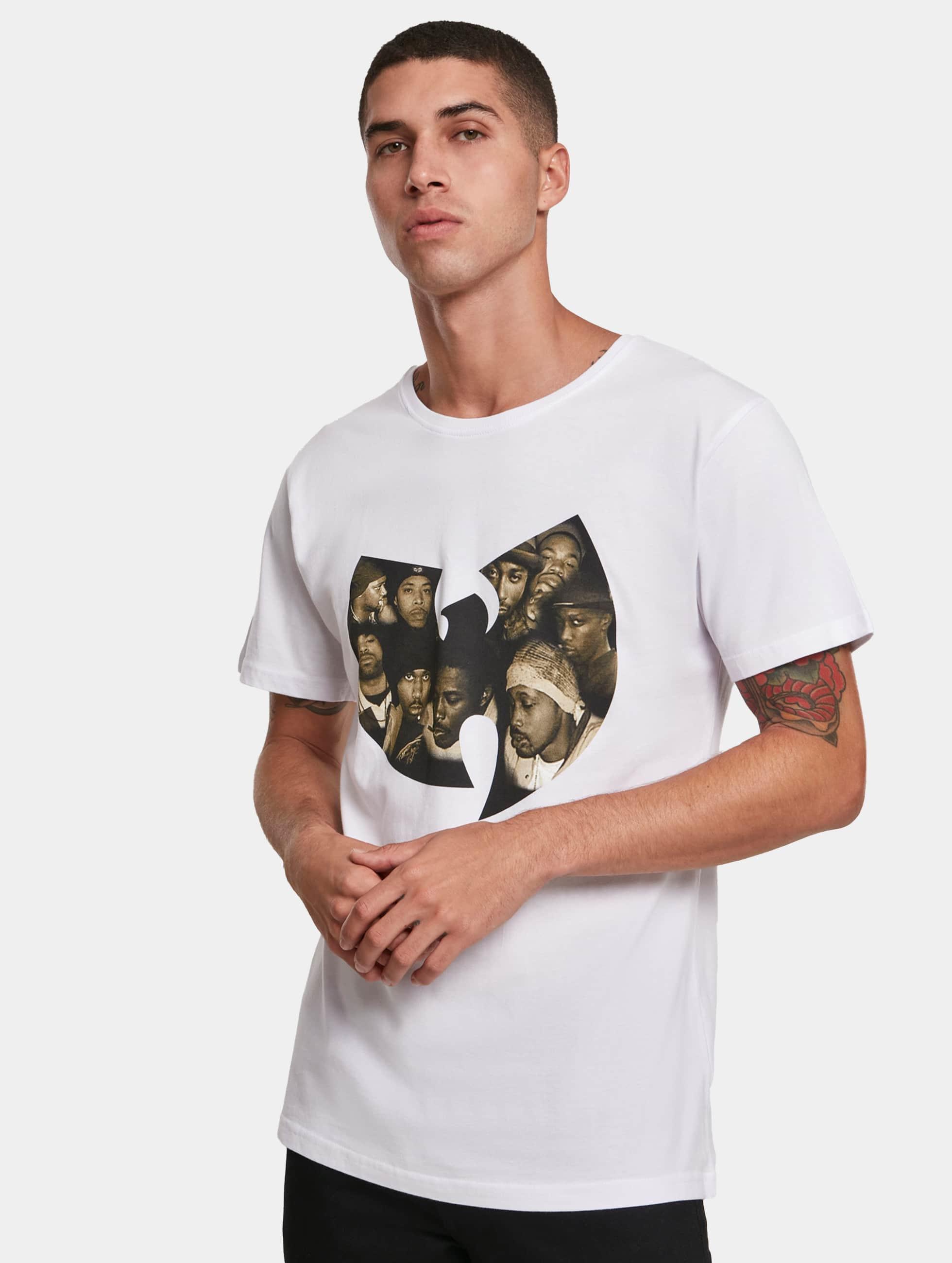 Wu-Tang Männer T-Shirt Crew in weiß