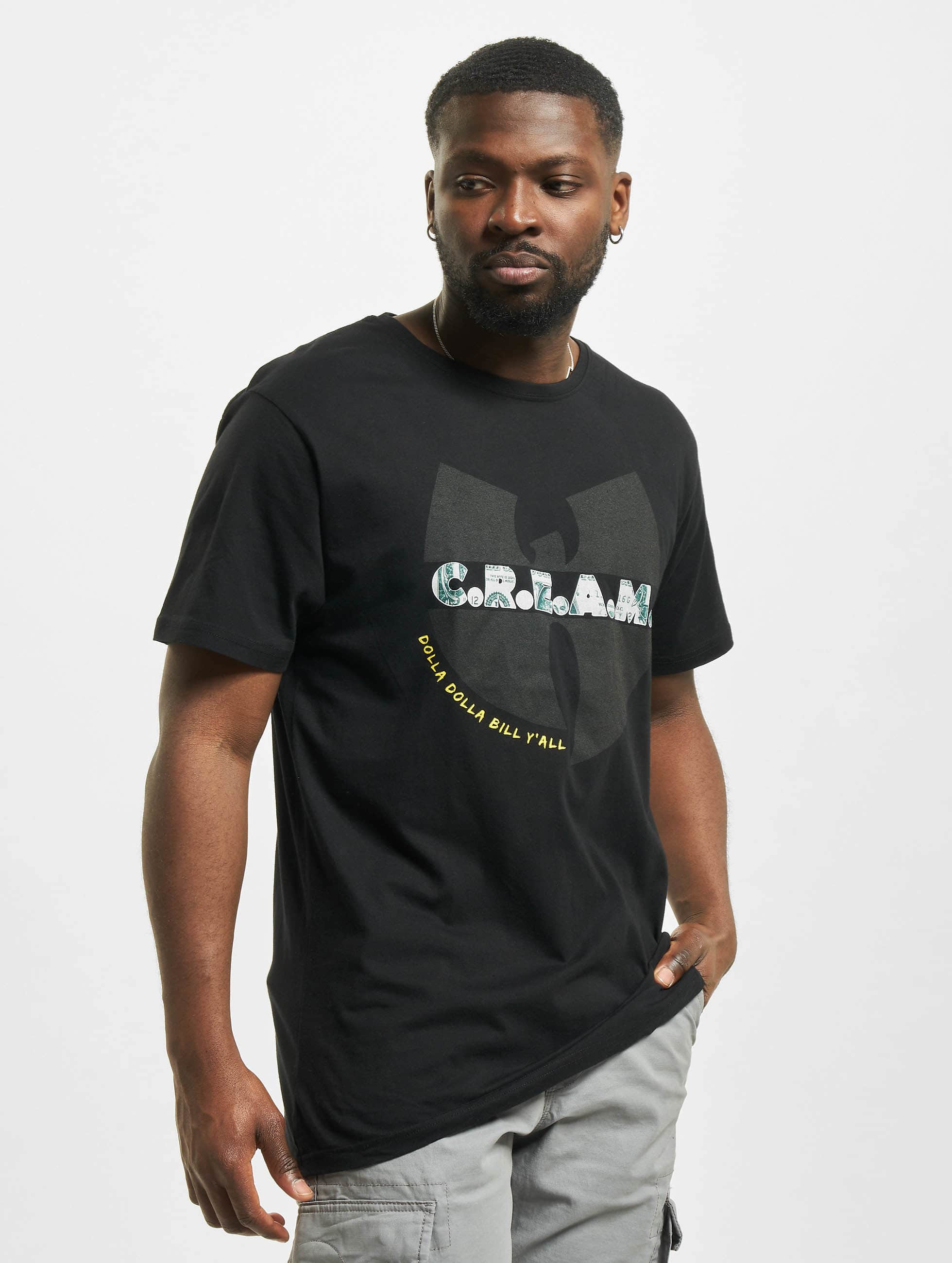 Wu-Tang Männer T-Shirt C.R.E.A.M. in schwarz