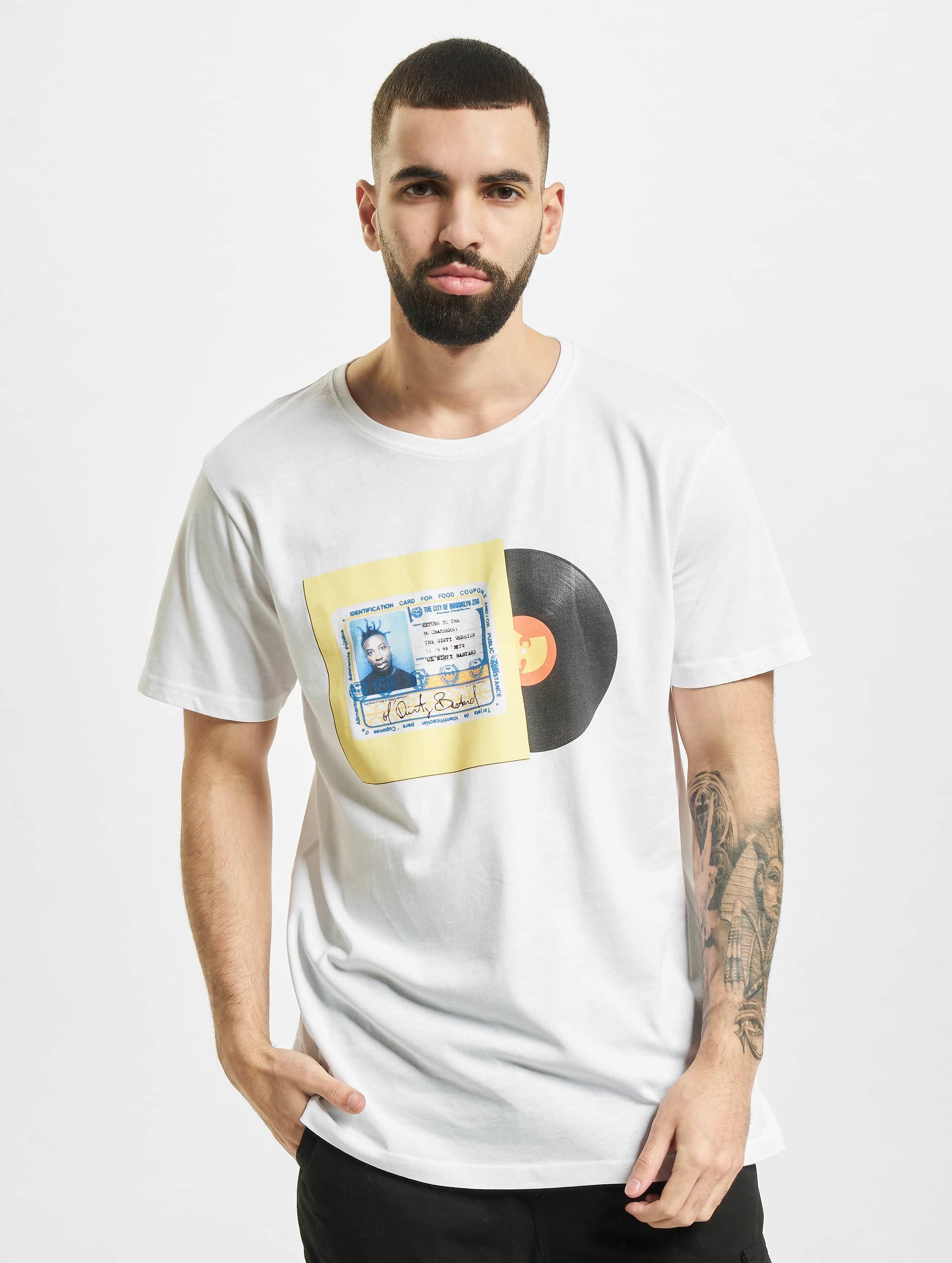 Wu-Tang Männer T-Shirt ID Card in weiß