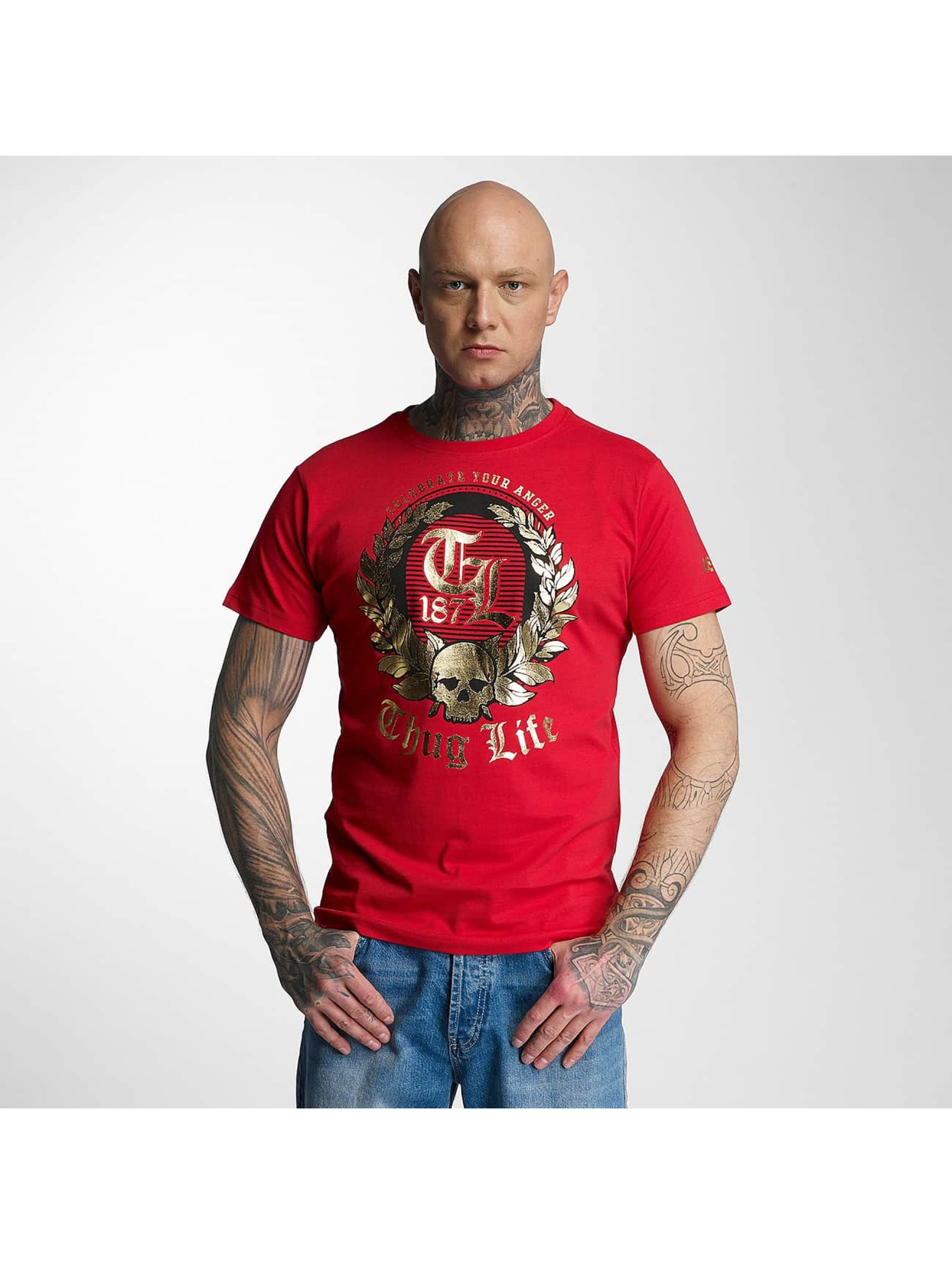 Thug Life / T-Shirt Celebrate in red L