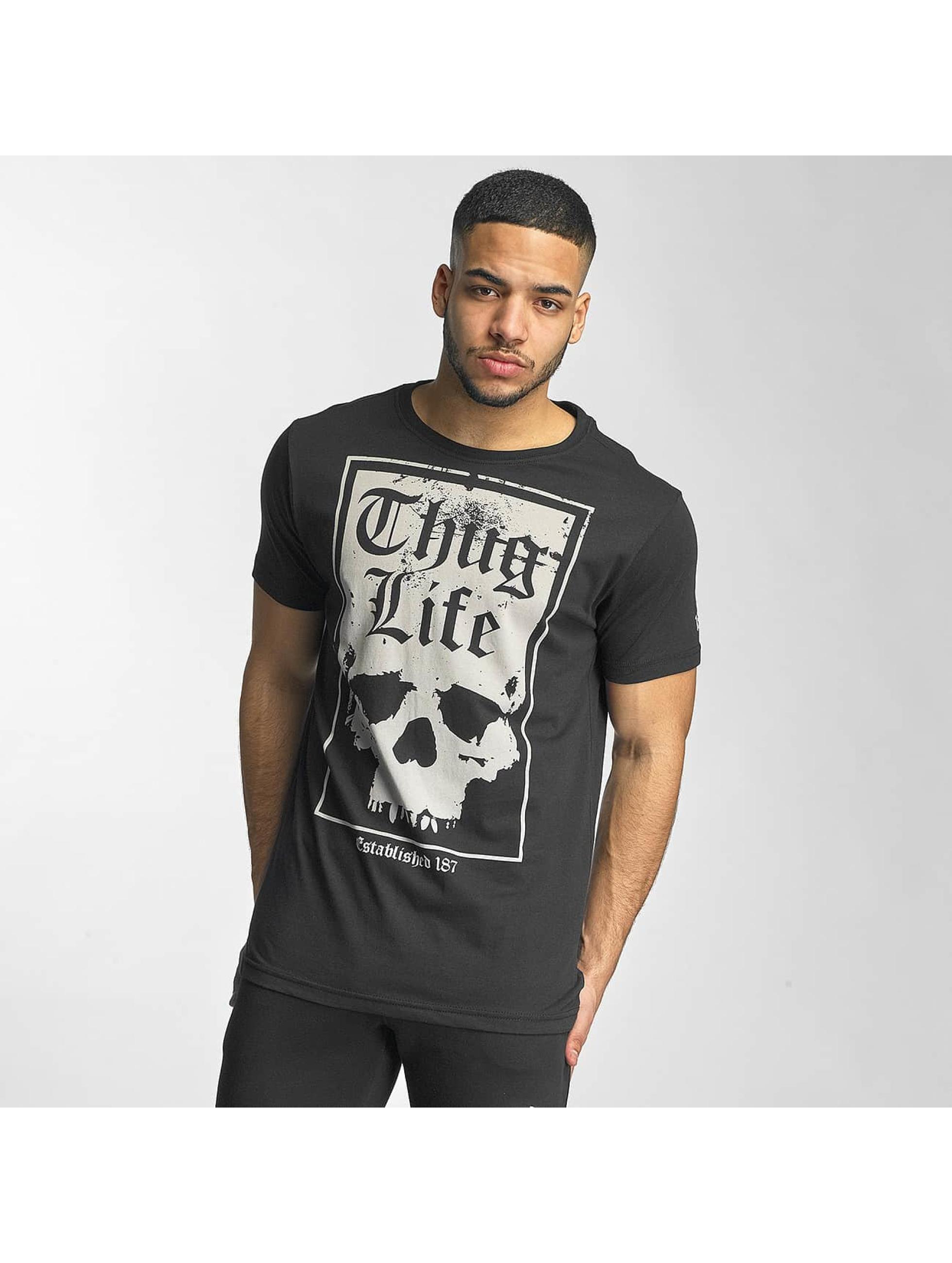 Thug Life / T-Shirt Established 187 in black L