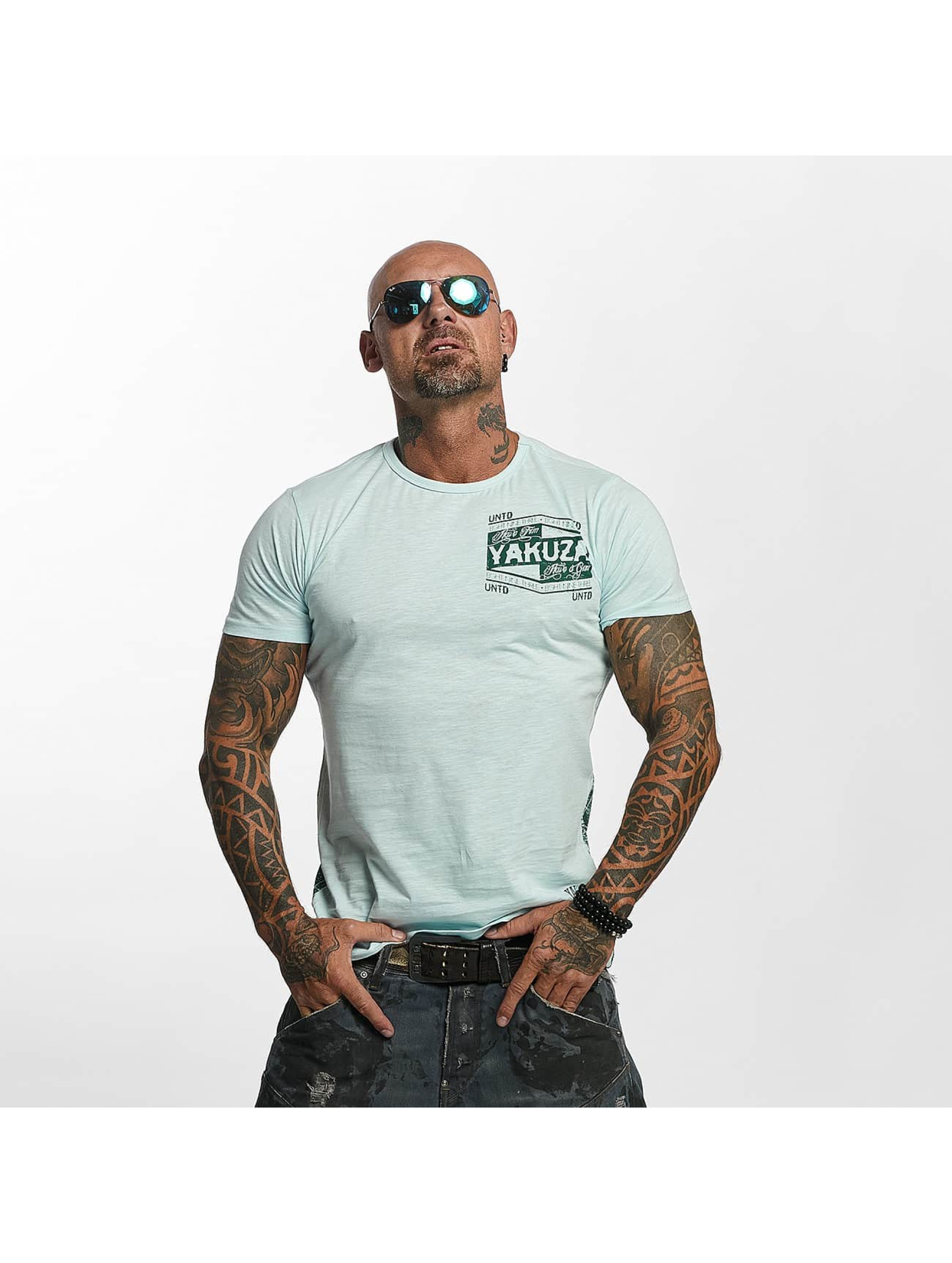 Guhrow Angebote Yakuza Männer T-Shirt Untd in blau