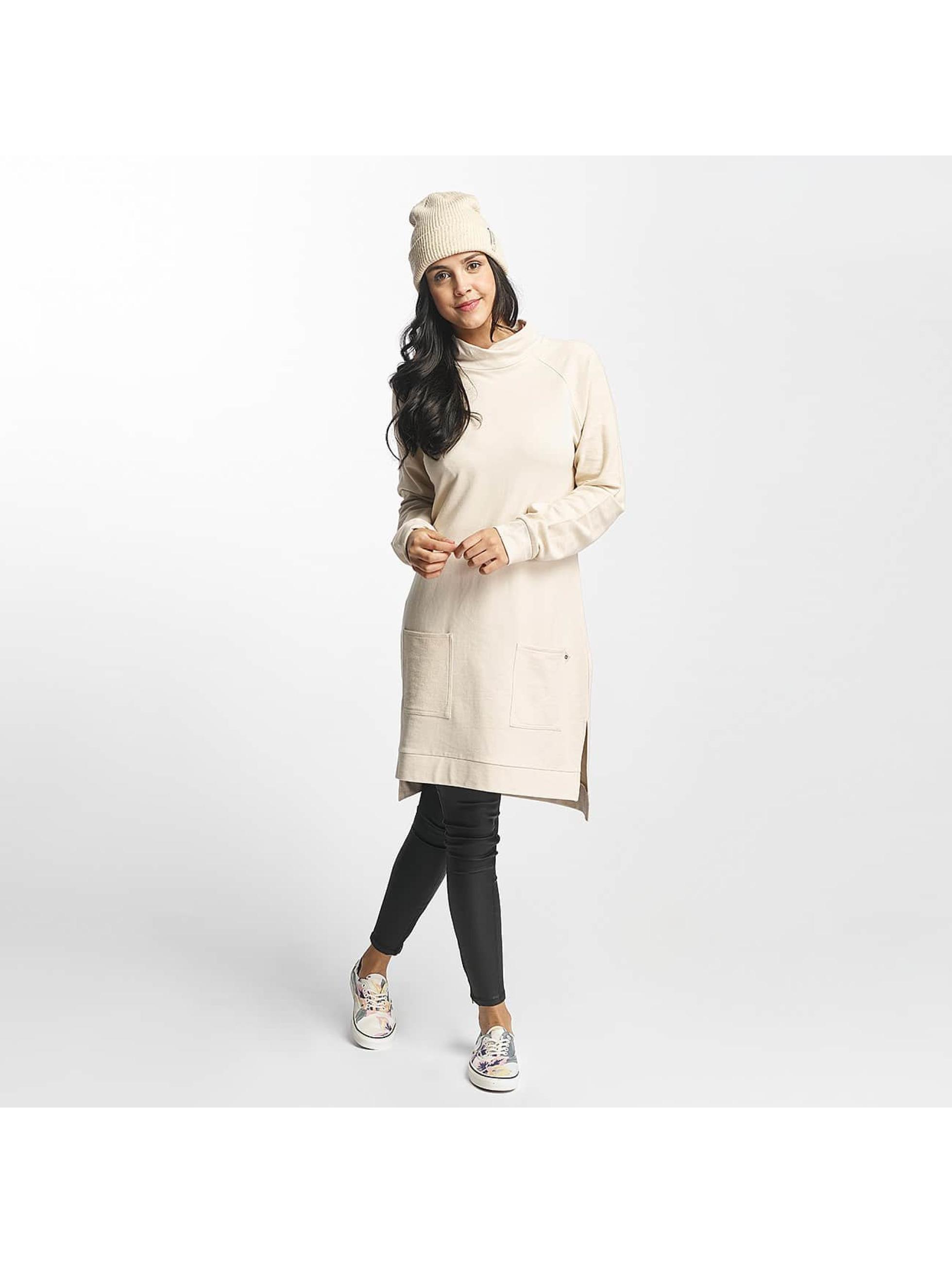 Nikita Frauen Kleid Crowberry in beige