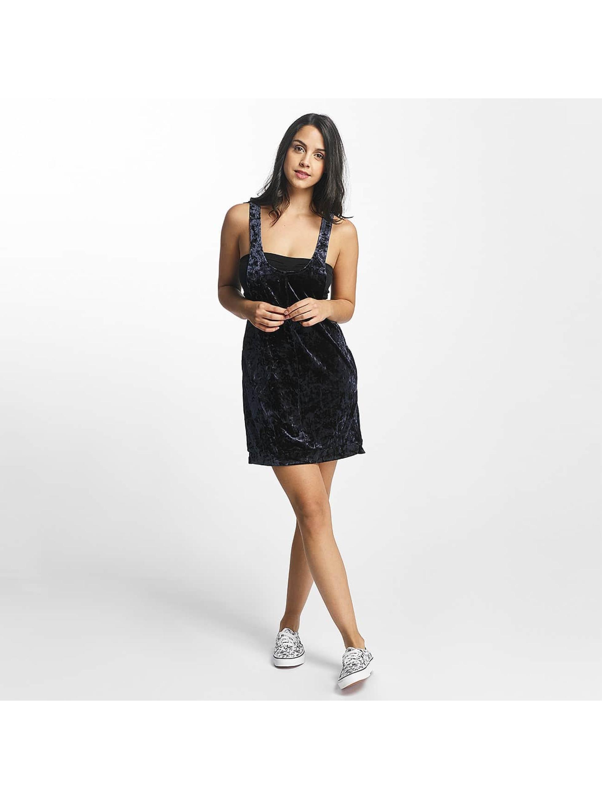 Nikita Frauen Kleid Fauna in schwarz