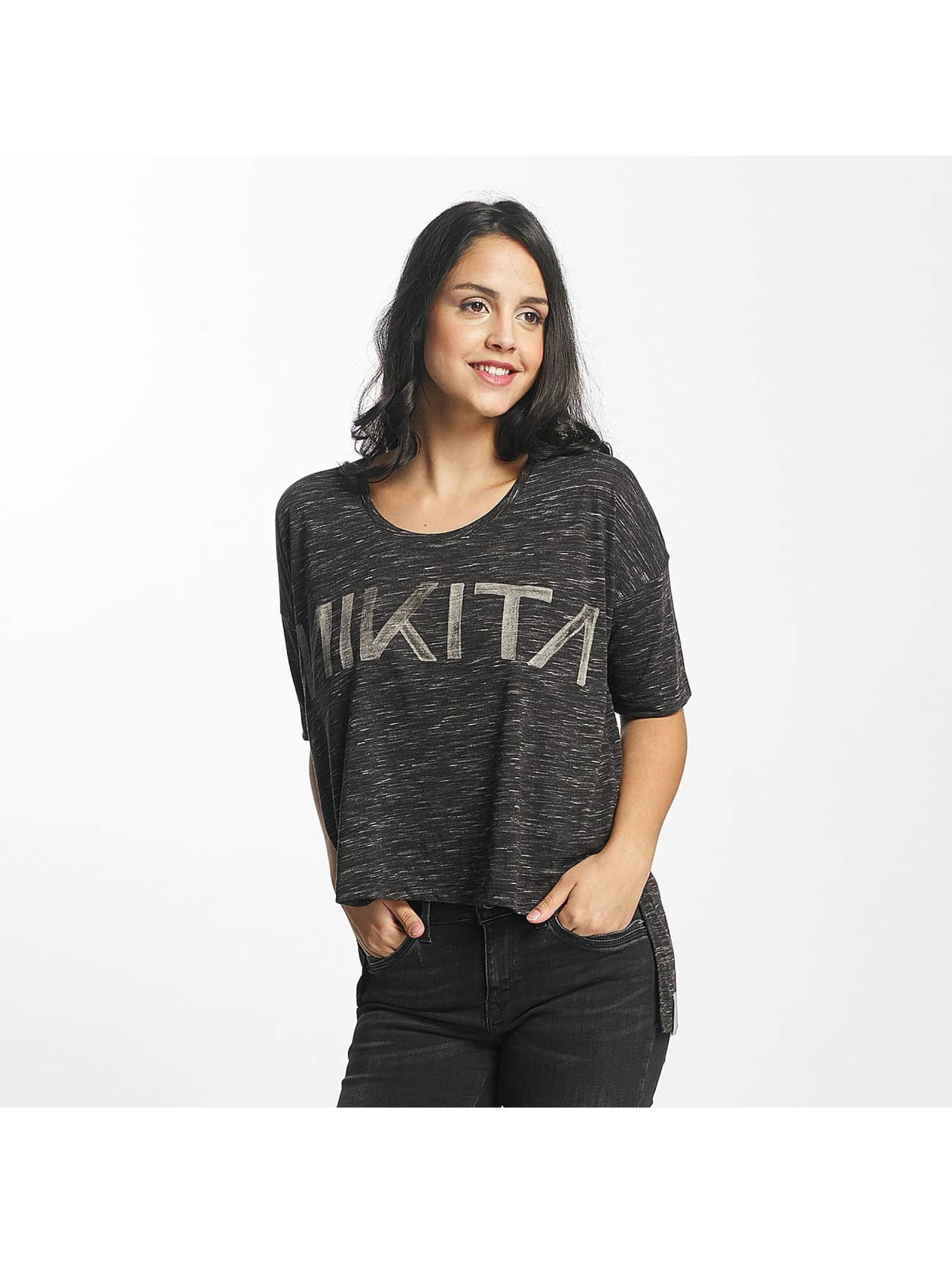 Nikita Frauen T-Shirt Letharia in schwarz