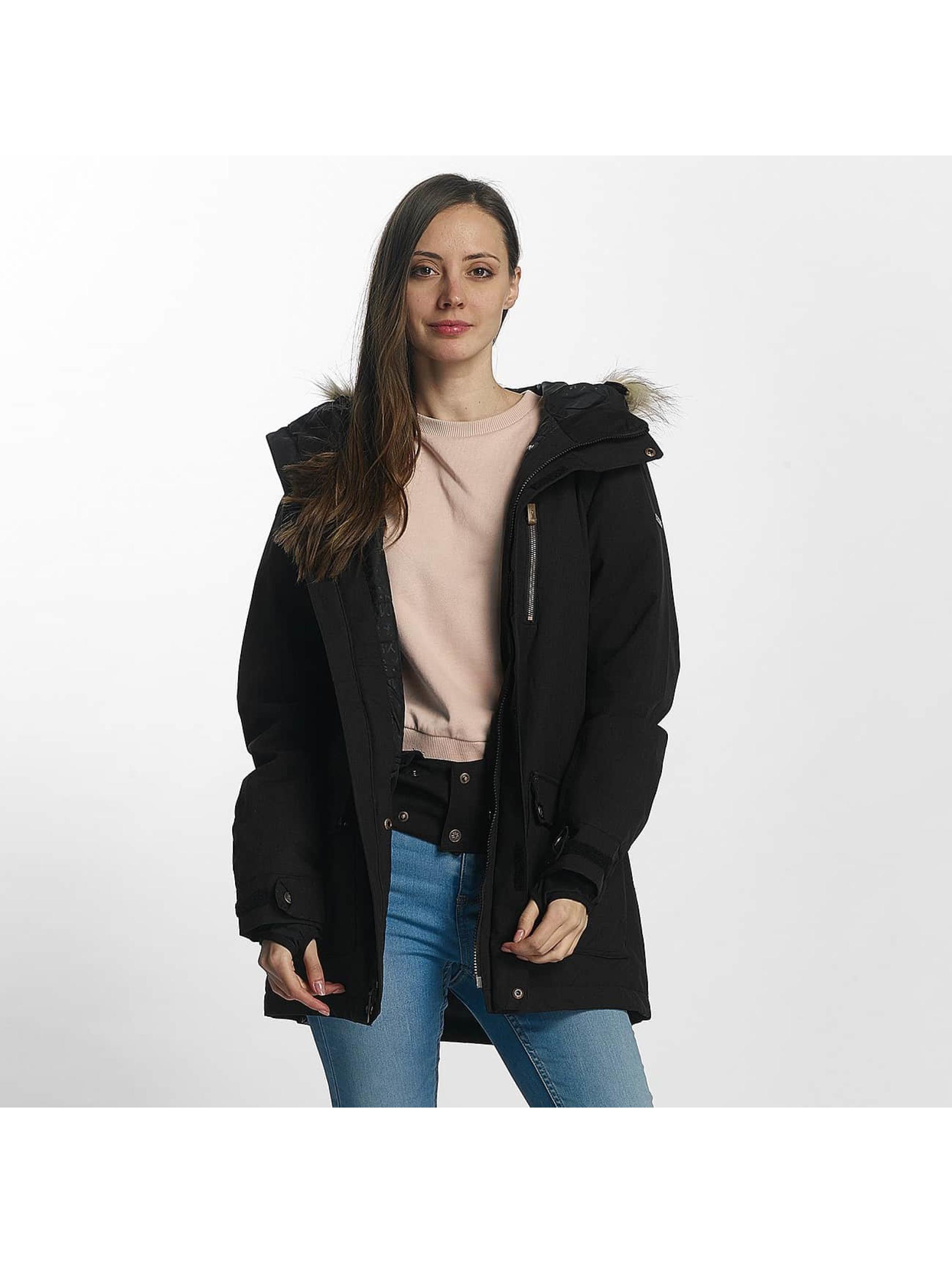 Nikita Frauen Winterjacke Hawthorne in schwarz