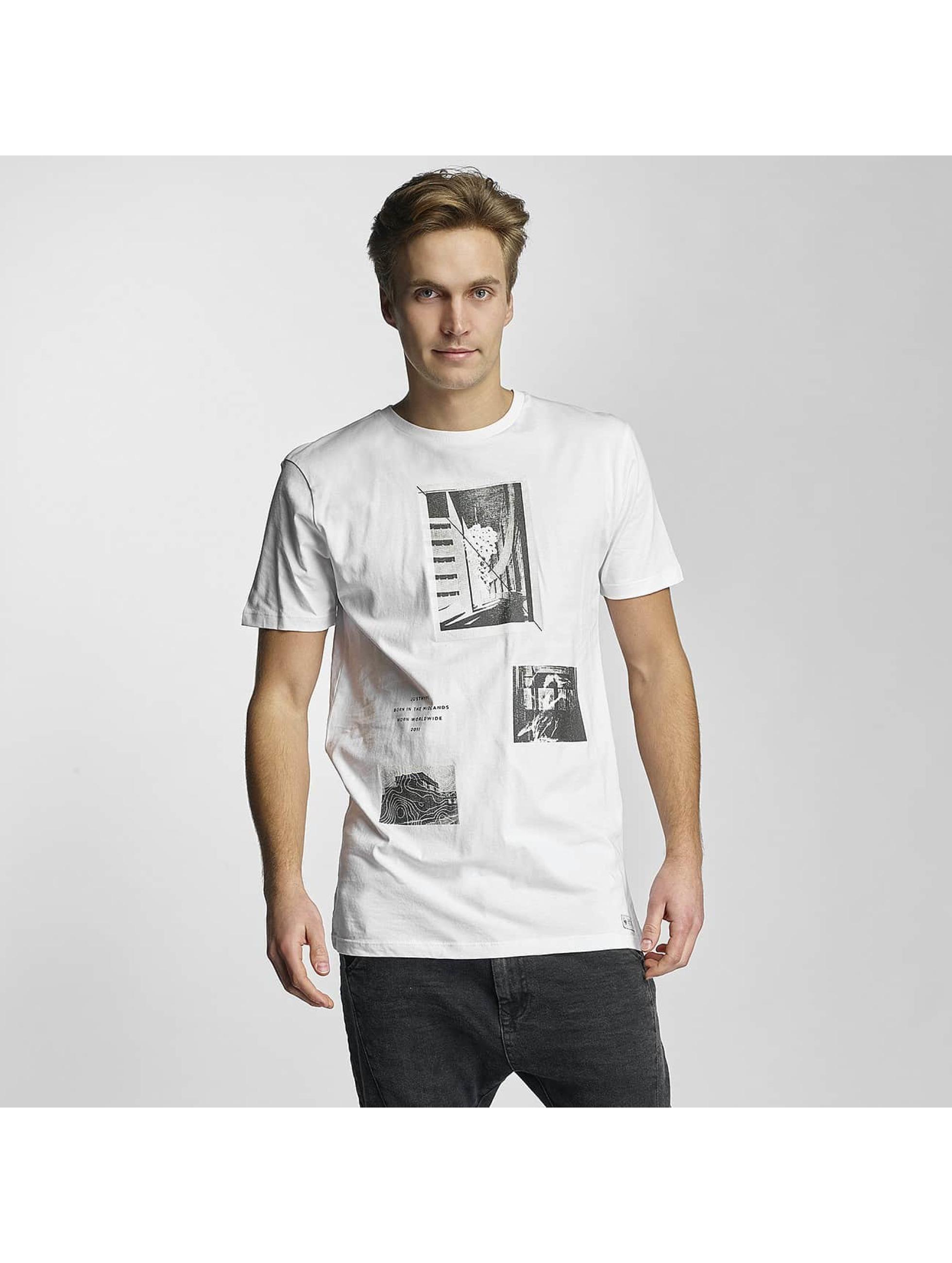 HYPE Männer T-Shirt Haus in weiß