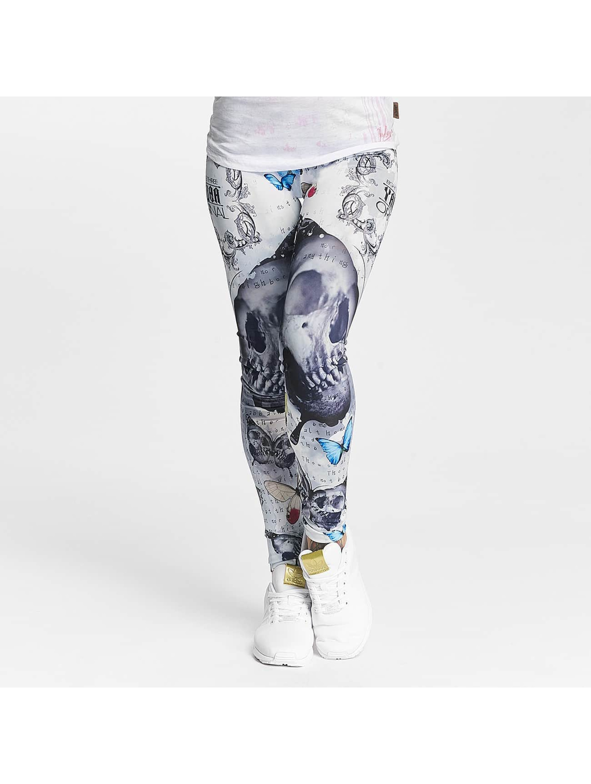 Yakuza Frauen Legging Butterfly in bunt