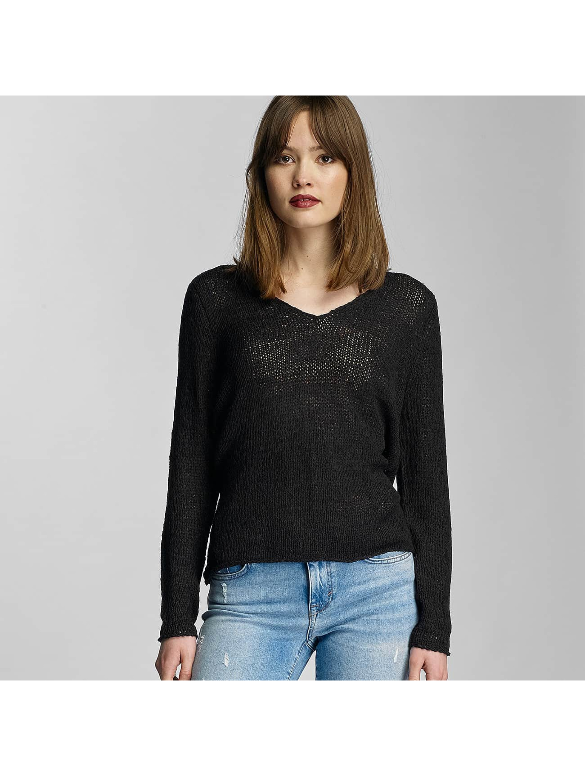 Only Frauen Pullover onlHope Knit in schwarz
