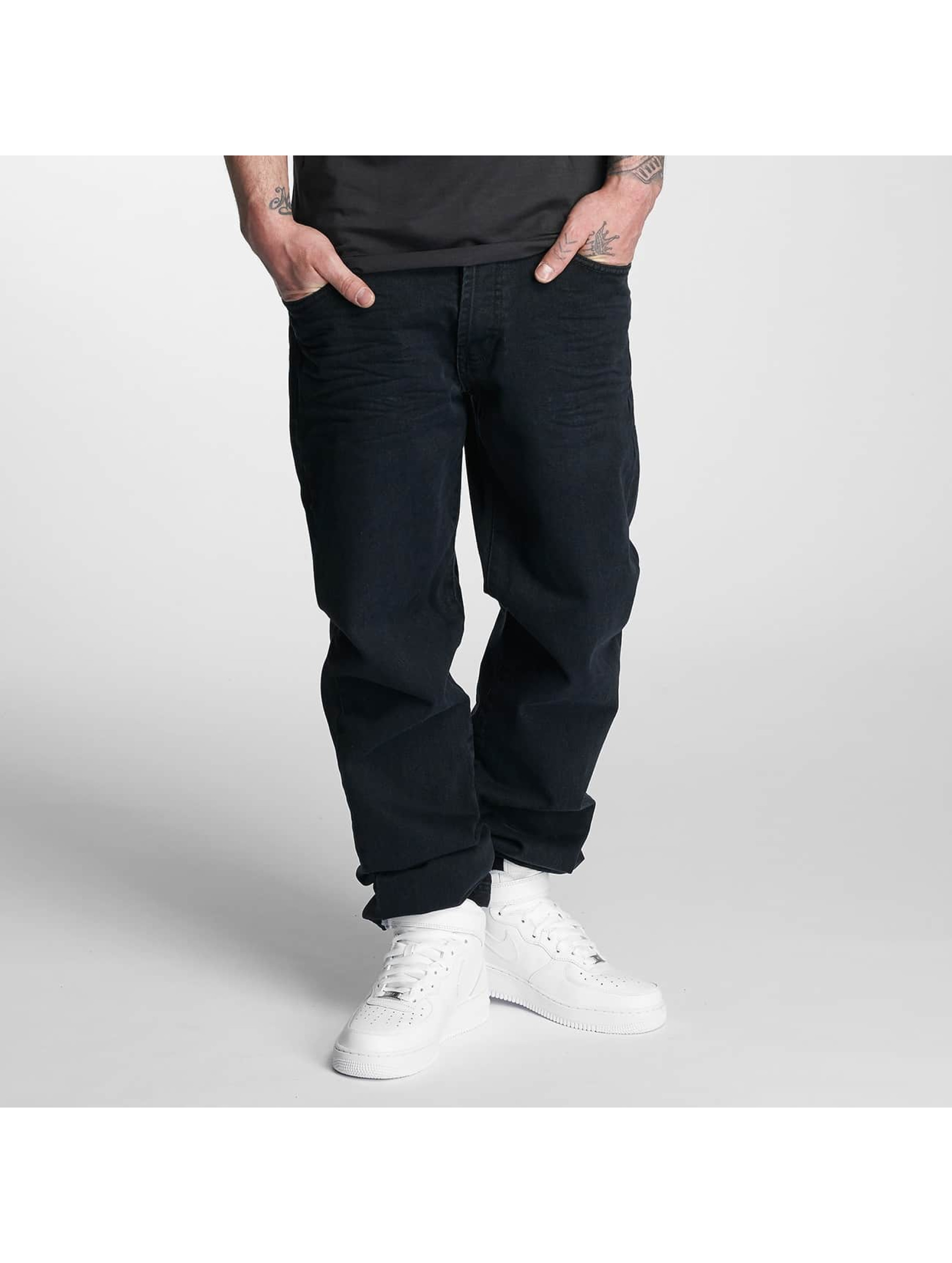 Thug Life / Loose Fit Jeans Carrot in black W 36 L 34