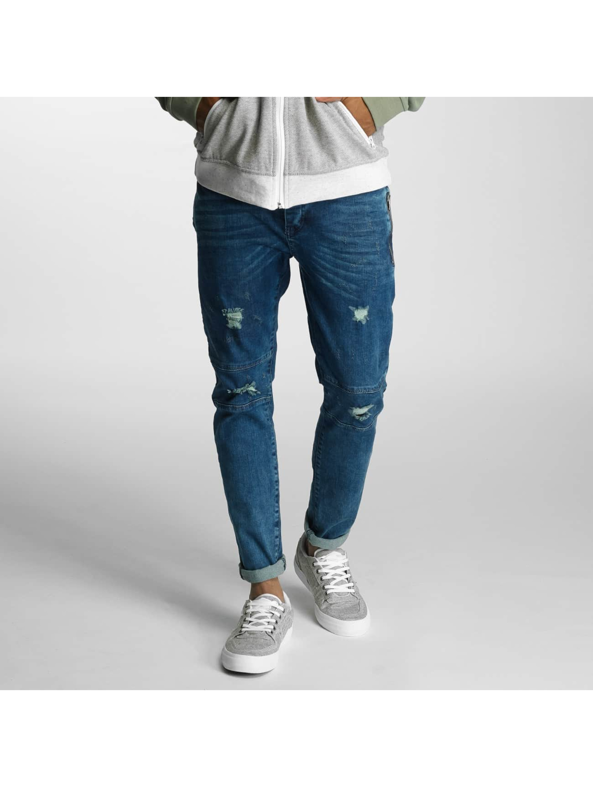 Just Rhyse / Straight Fit Jeans Destroyed in blue W 32