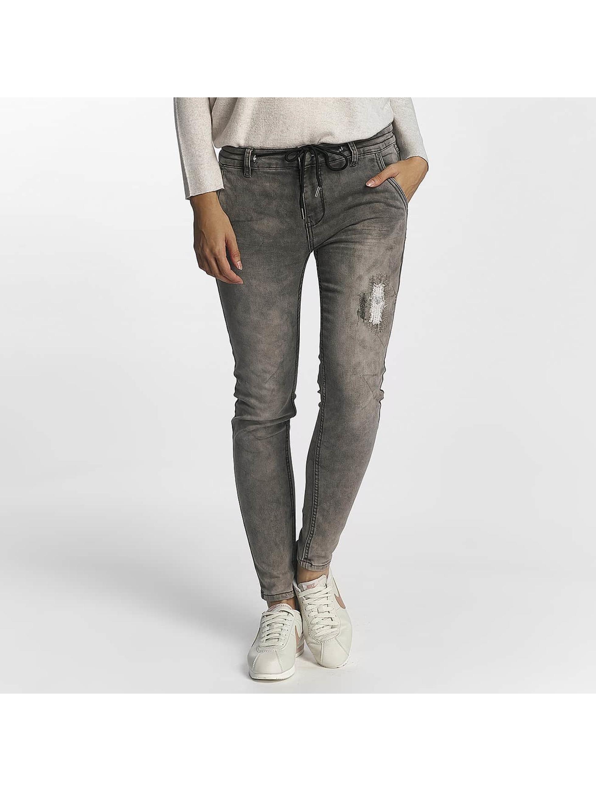 Urban Surface Frauen Jogginghose Jogg Jeans in grau