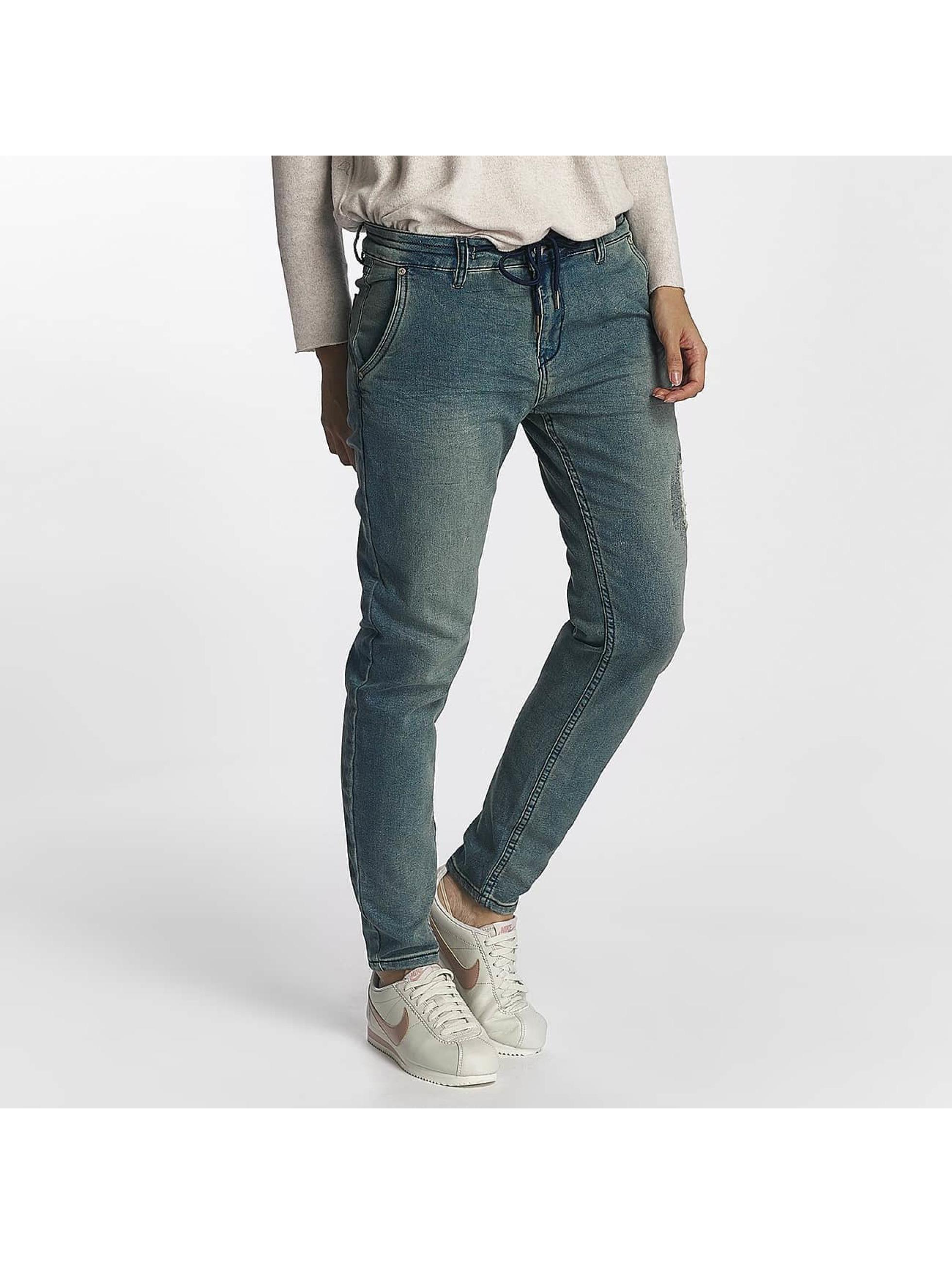 Urban Surface Frauen Jogginghose Jogg Jeans in blau